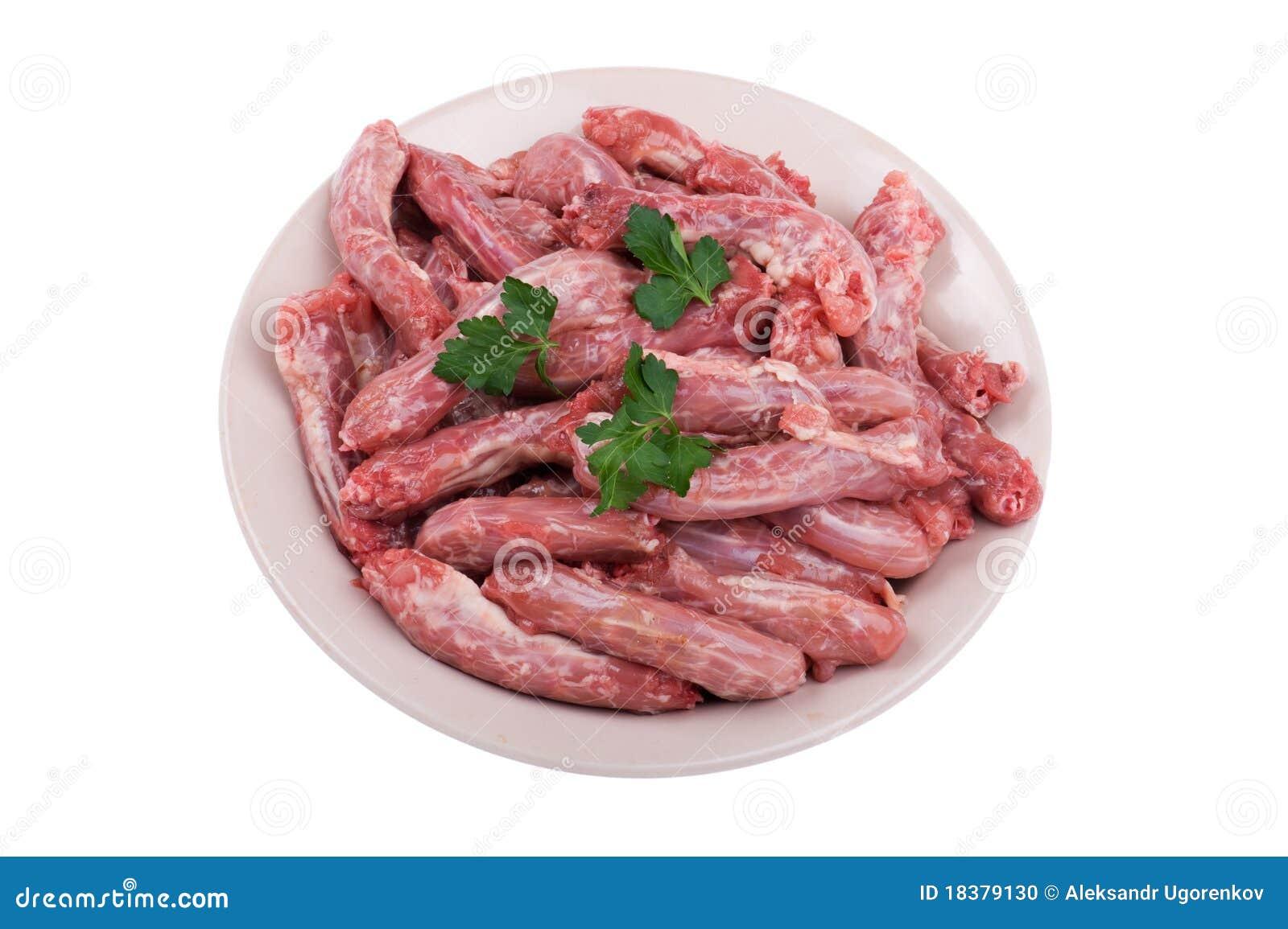 плита мяса цыпленка