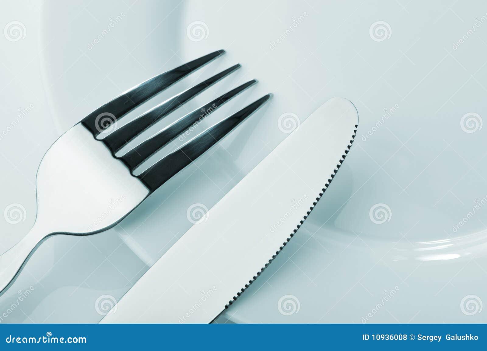 плита ножа вилки