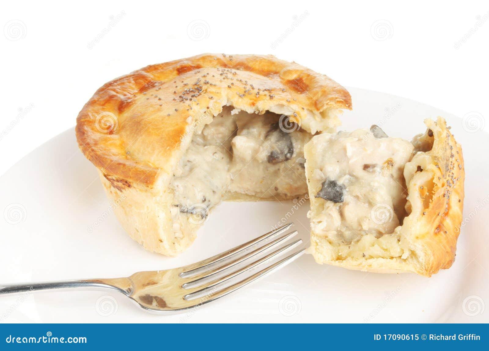 плита расстегая гриба цыпленка