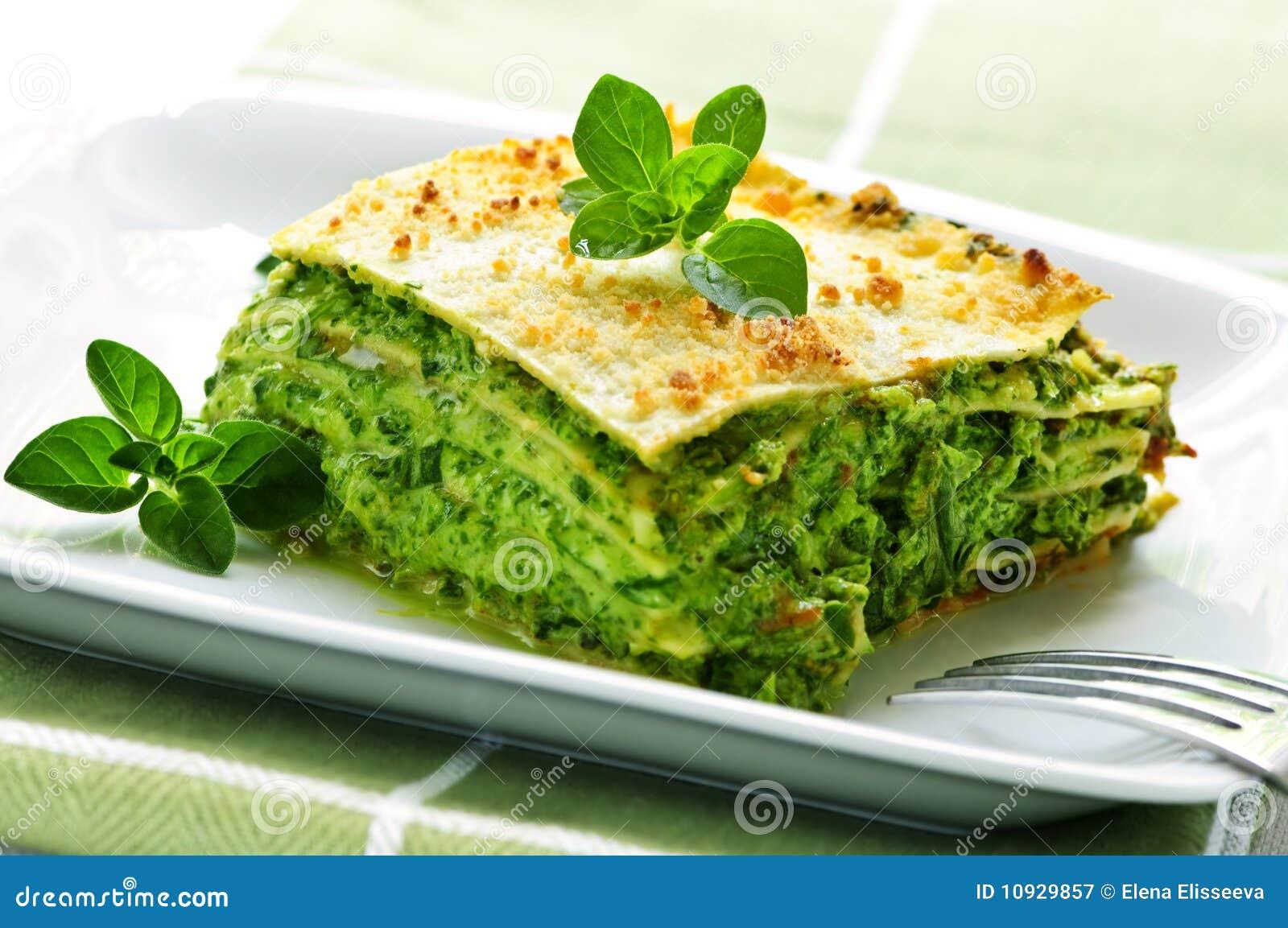 плита lasagna vegeterian