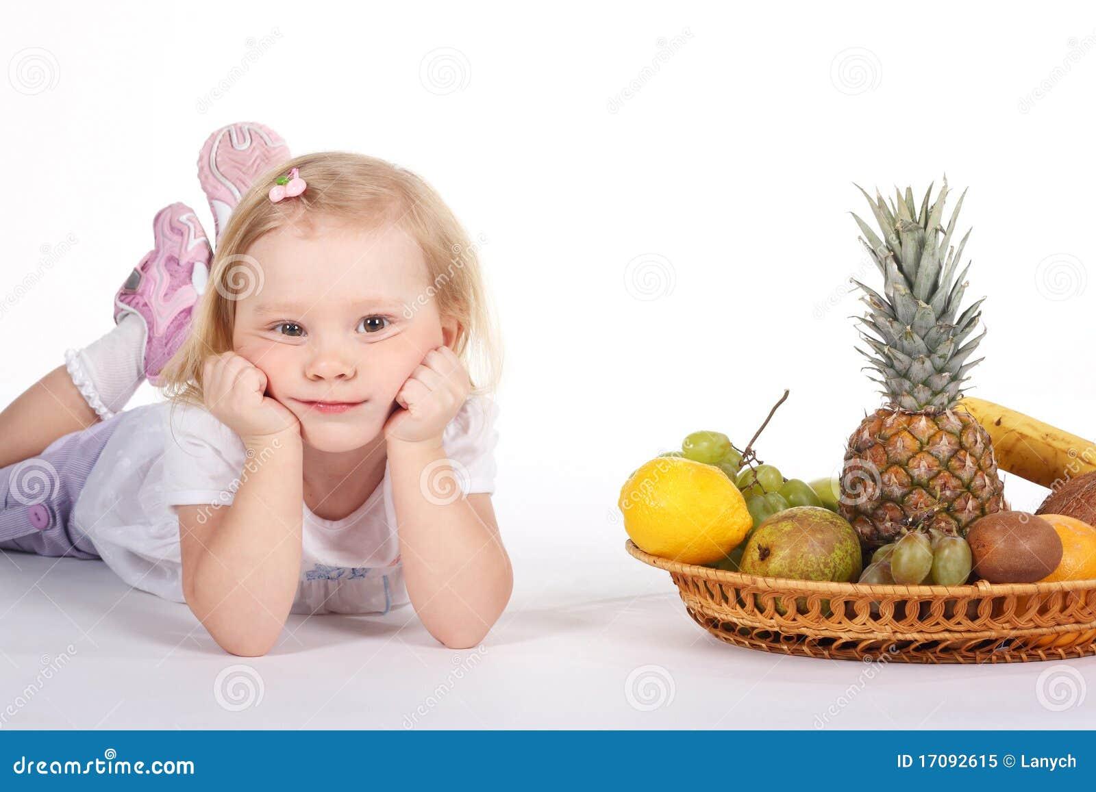 плодоовощи ребенка