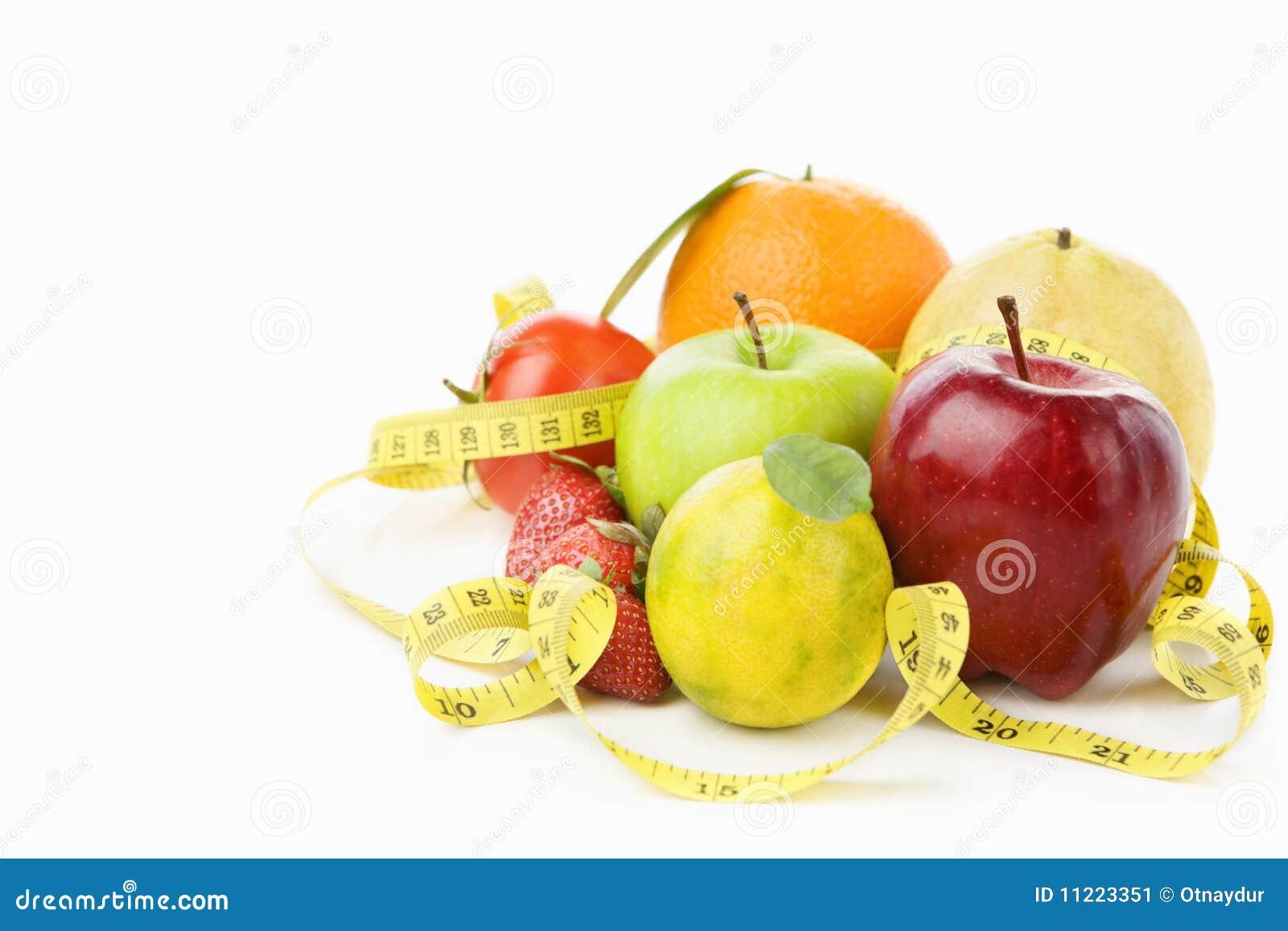 плодоовощи собирают измеряя ленту