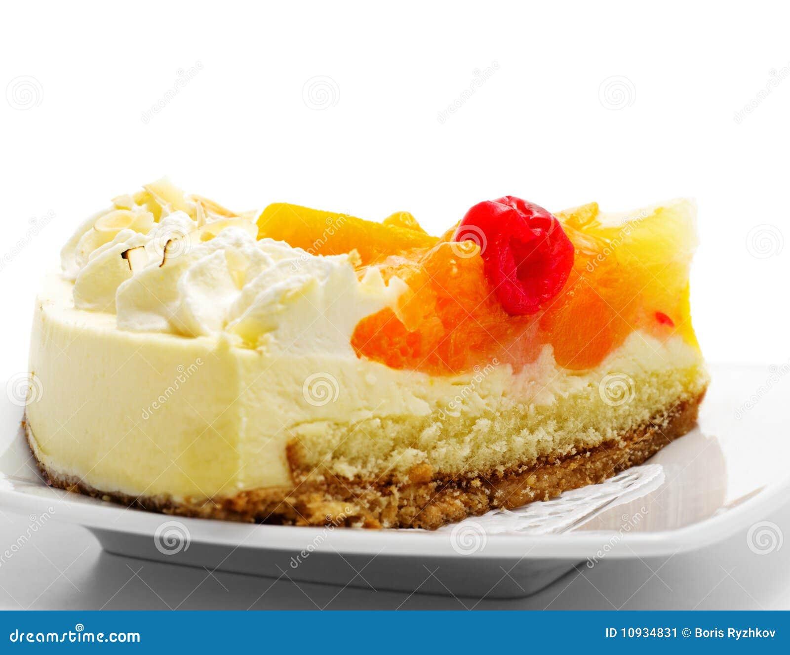 плодоовощ десерта торта