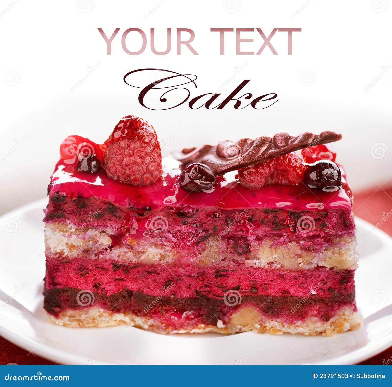 плодоовощ торта