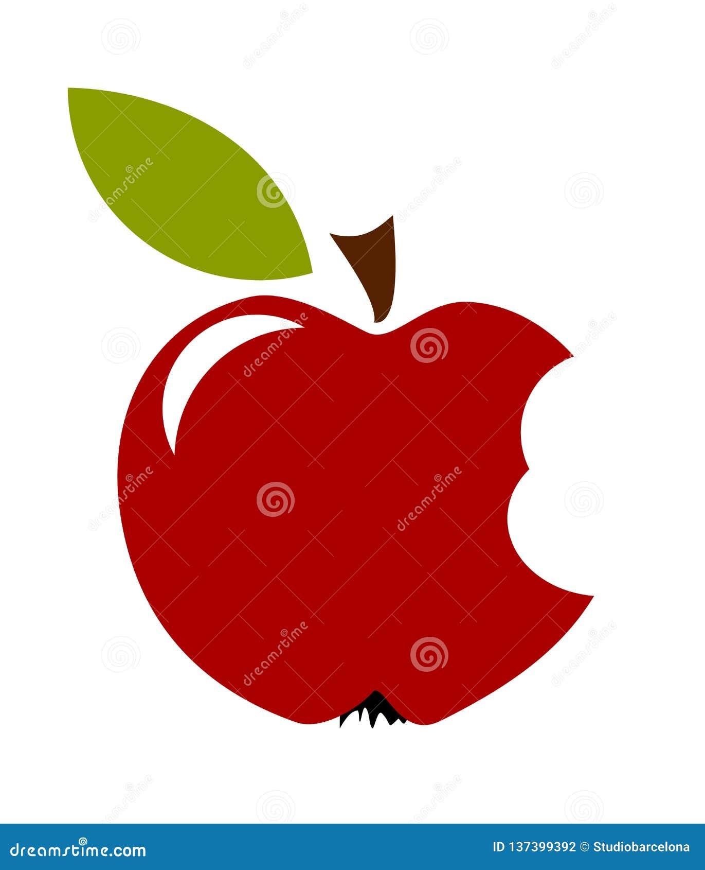 Плод Biten Яблока