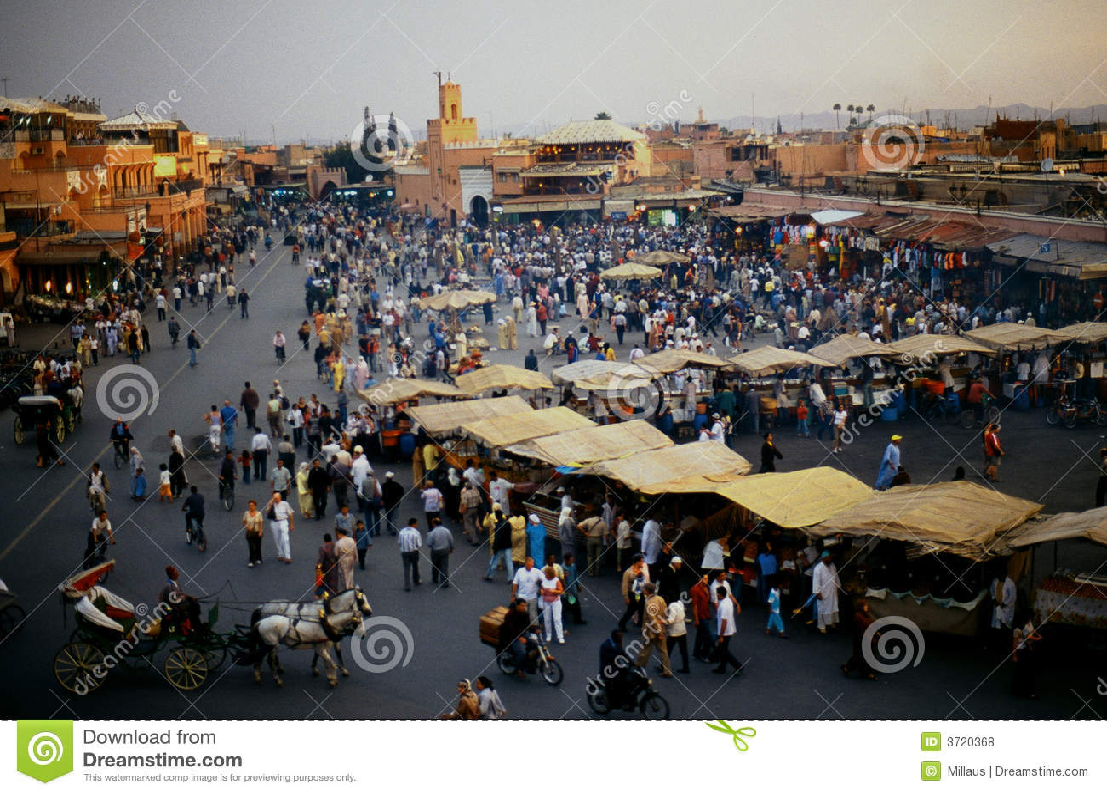площадь marrakech fnaa el djem