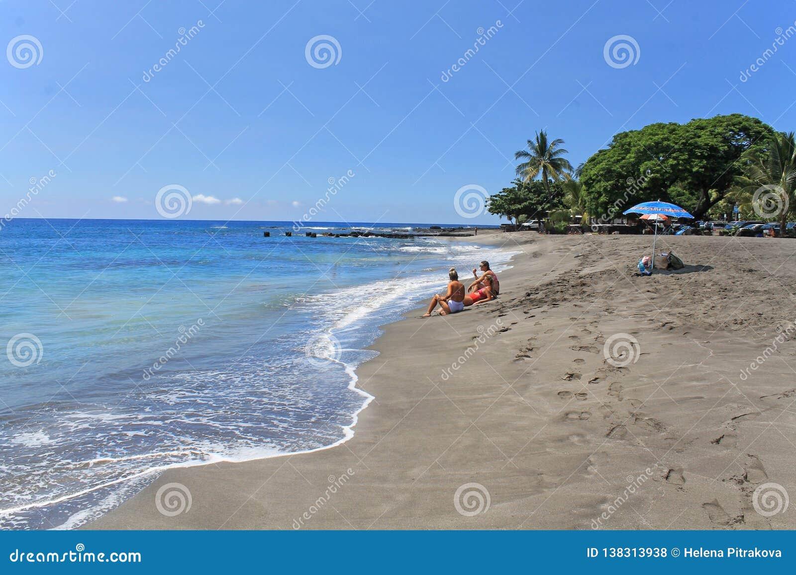 пляж ослабляя