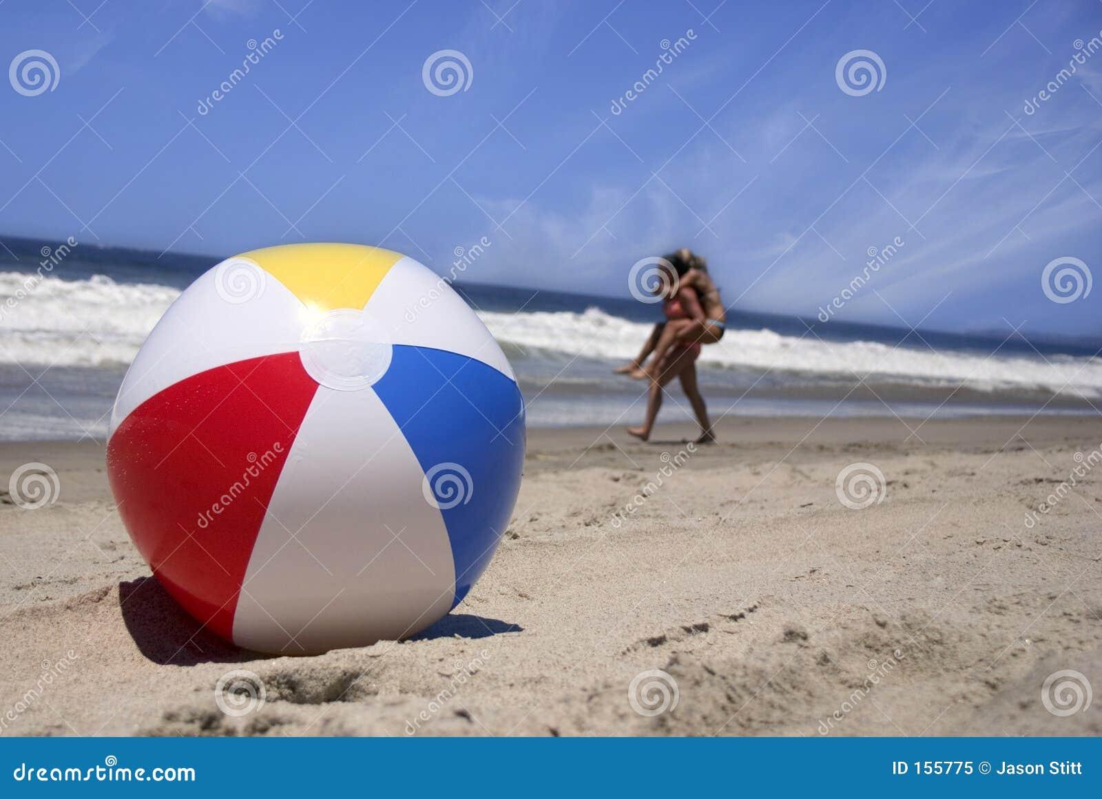 пляж шарика