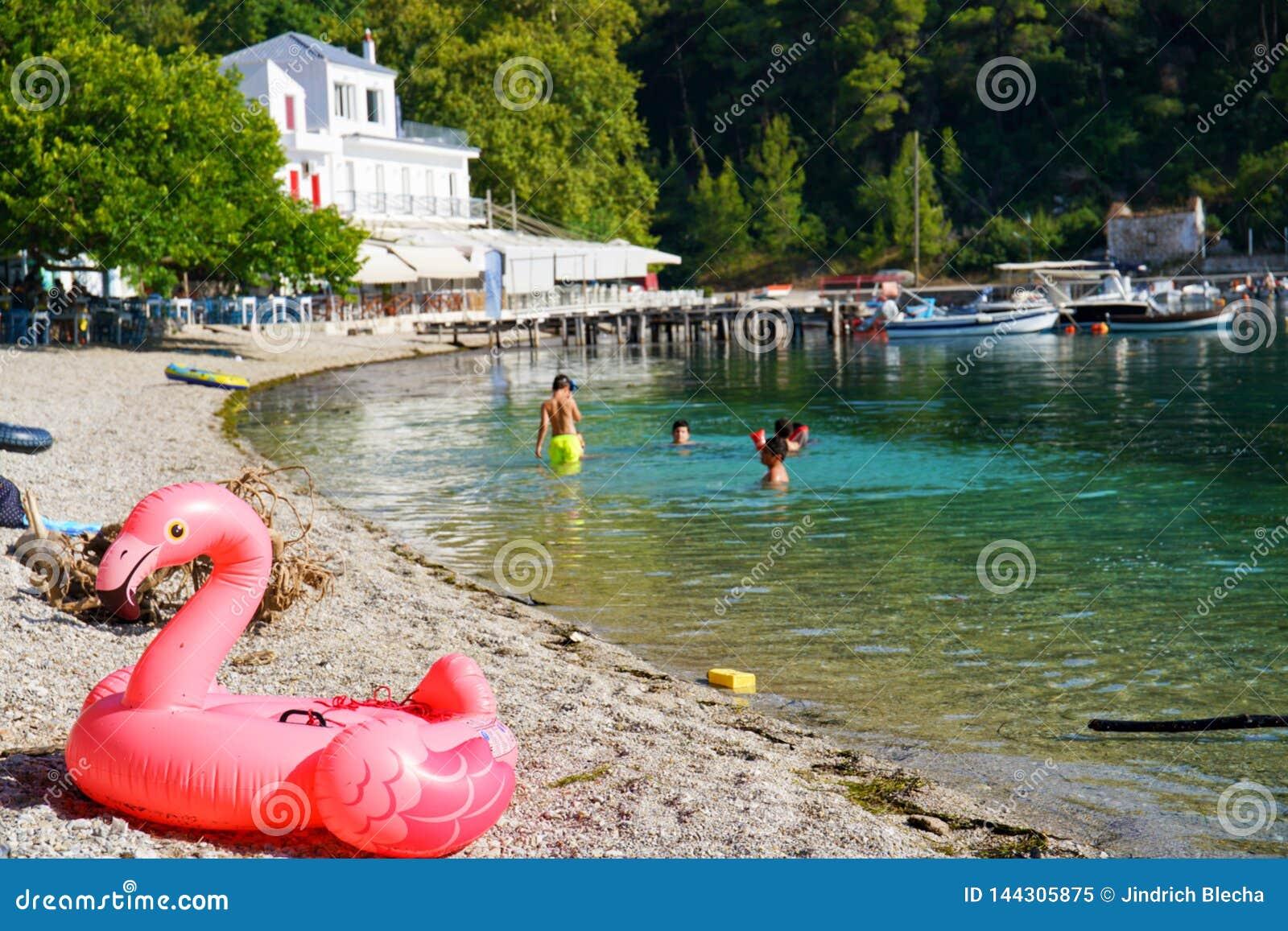 Пляж Agnontas, Греция