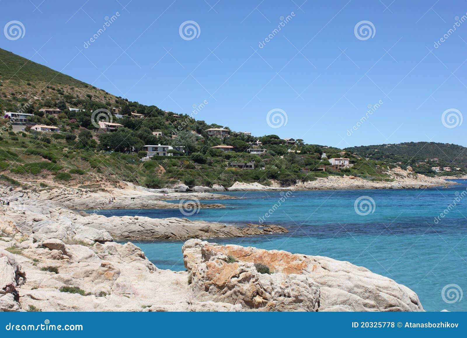Пляж Bonne Terrase на французском Ривьера