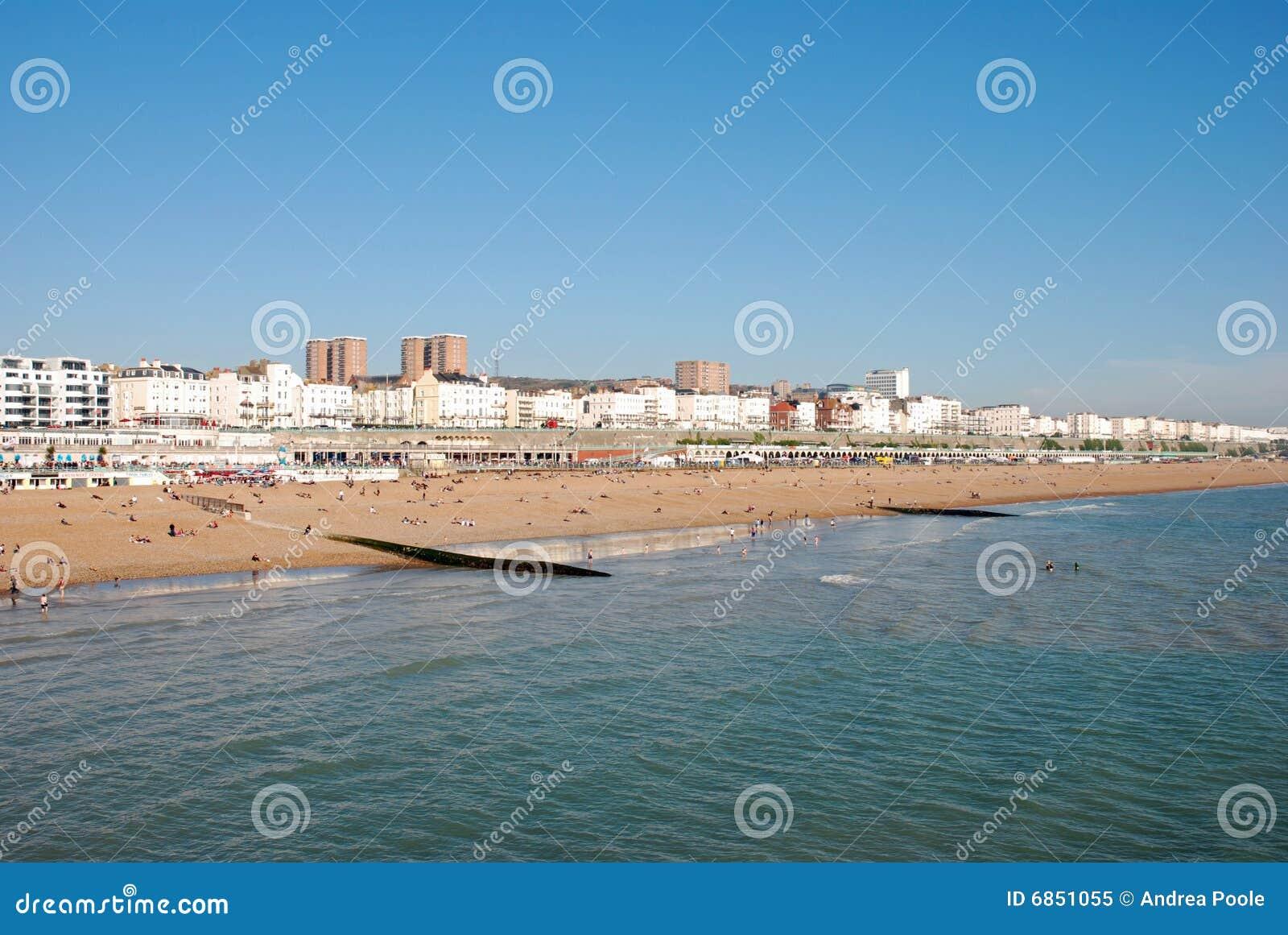 пляж brighton