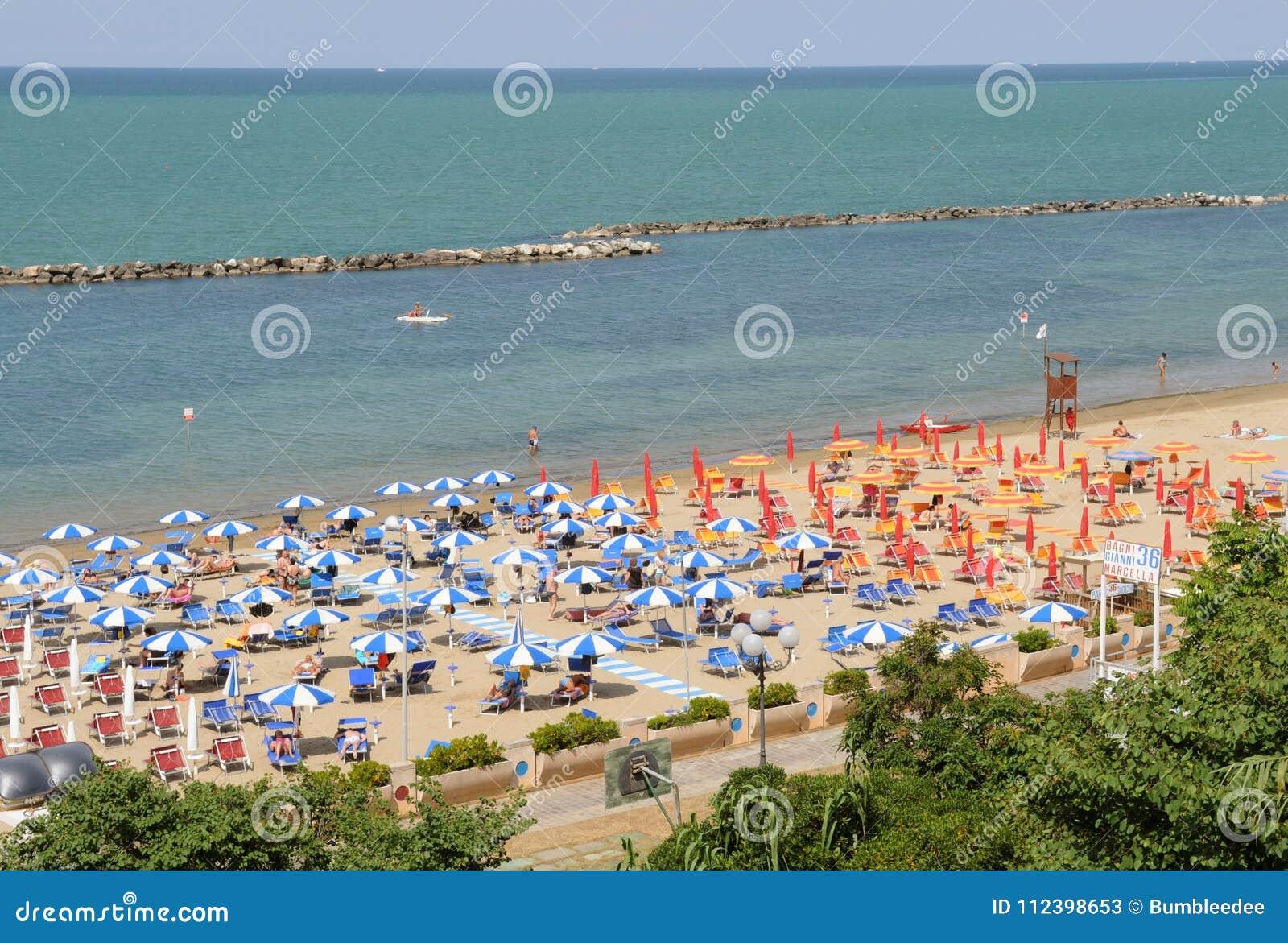 Пляж Cattolica, Римини riviera