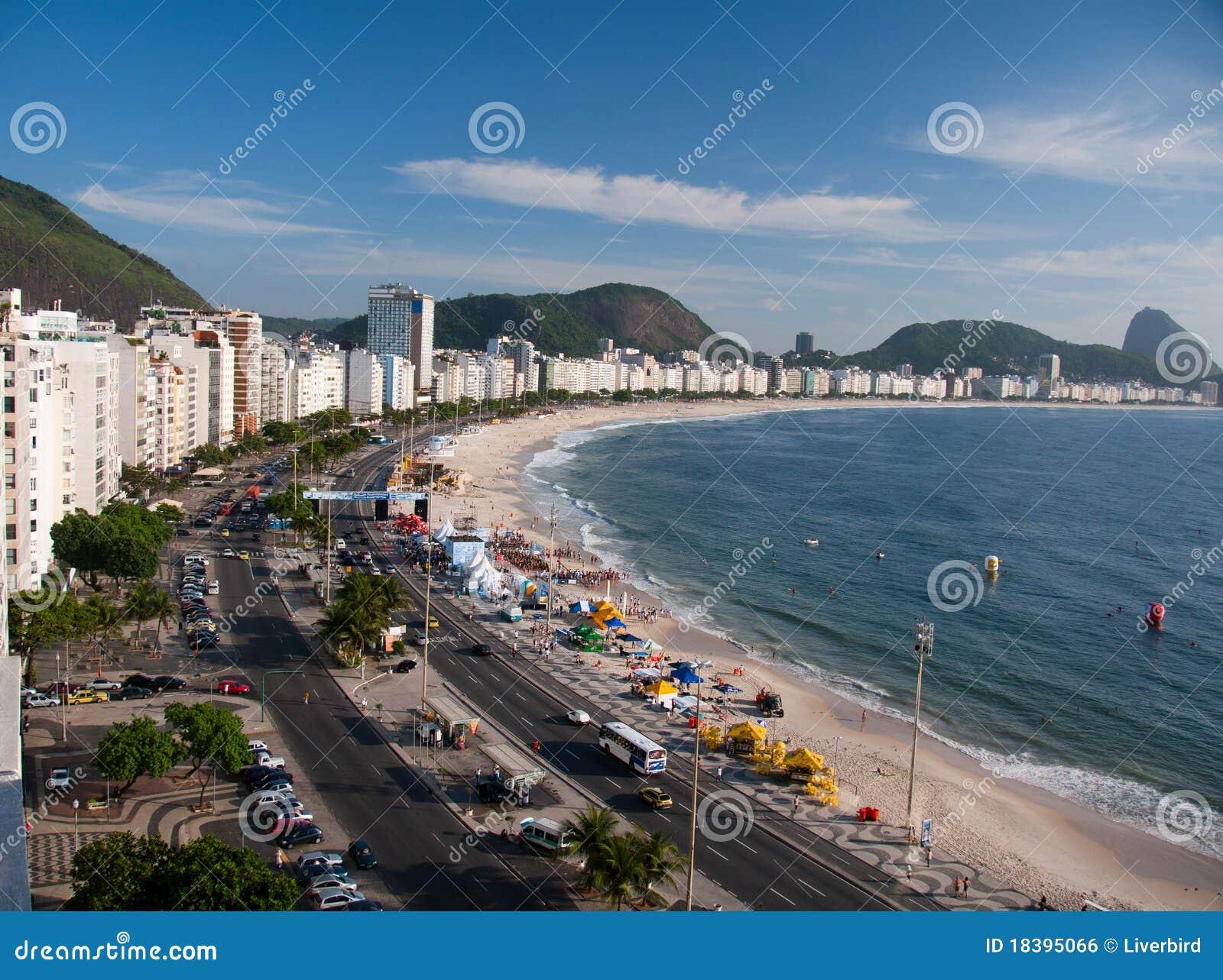пляж copacabana de janeiro rio