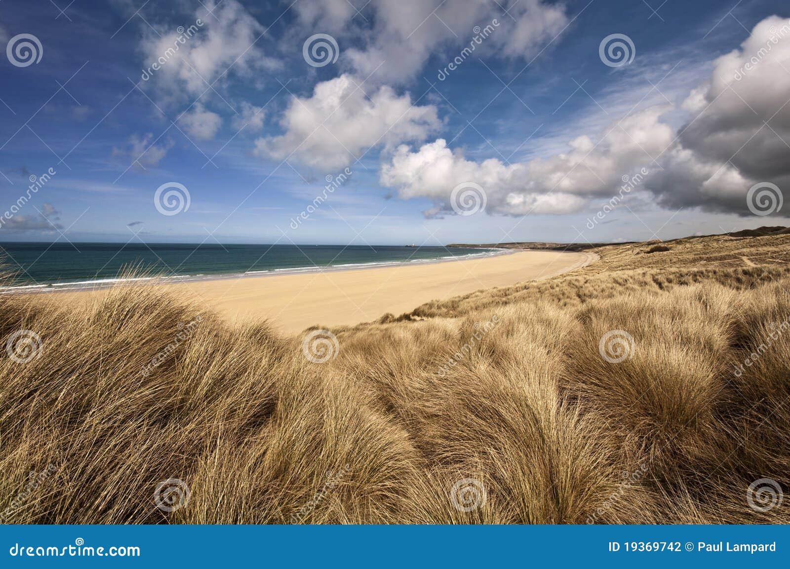 пляж cornwall