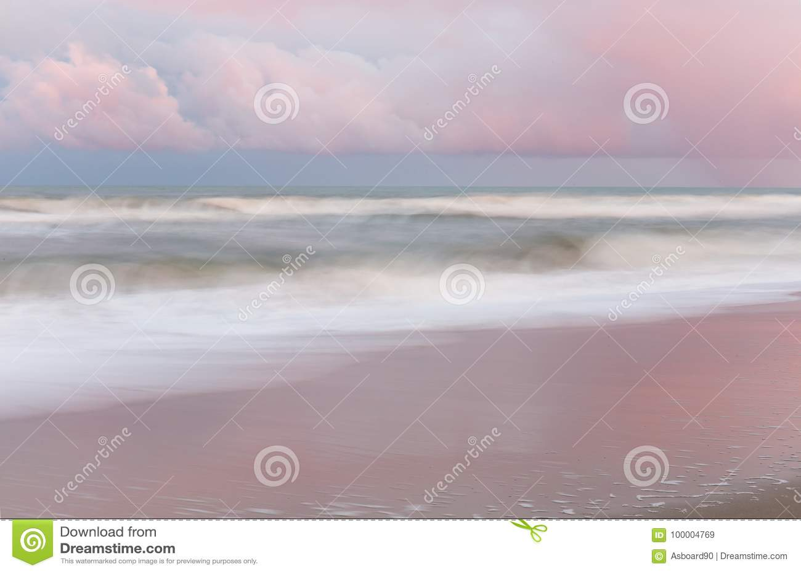 Пляж Kure, NC