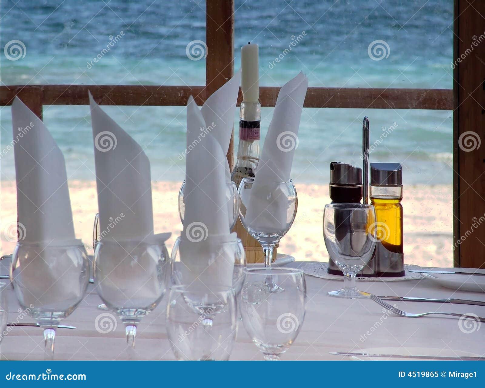 побережь взгляд ресторана