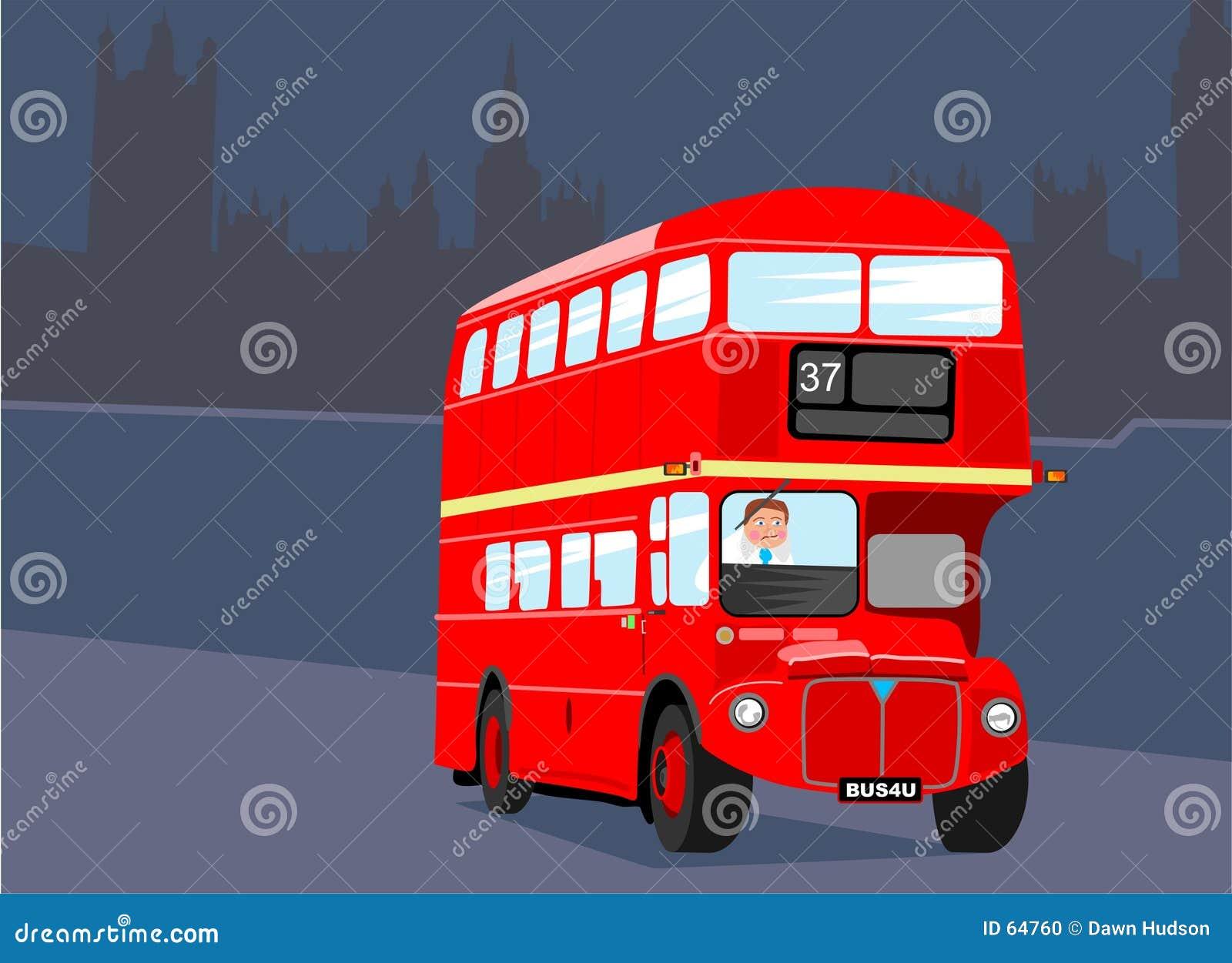 повезите london на автобусе
