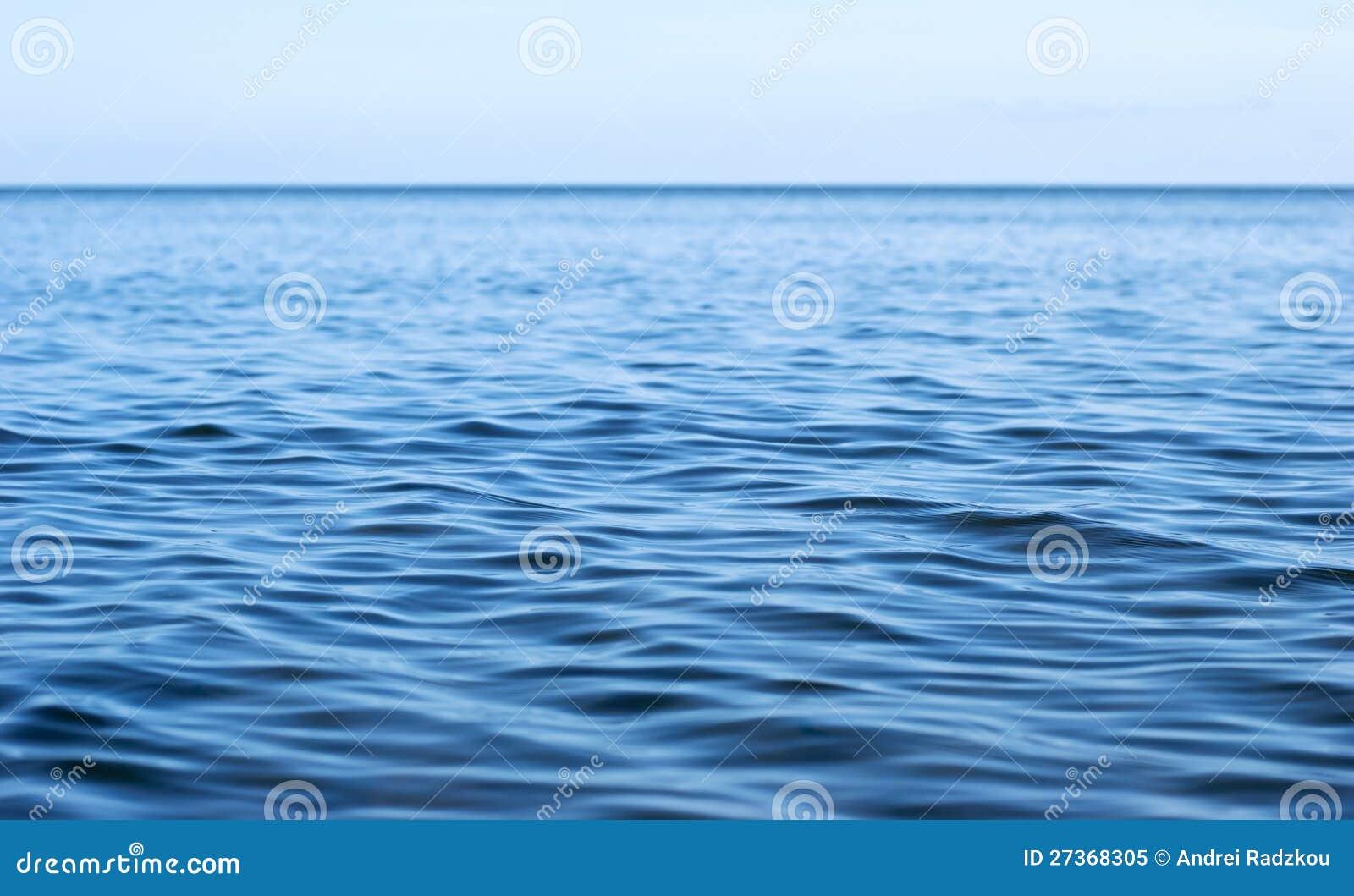 Поверхность моря с пульсациями