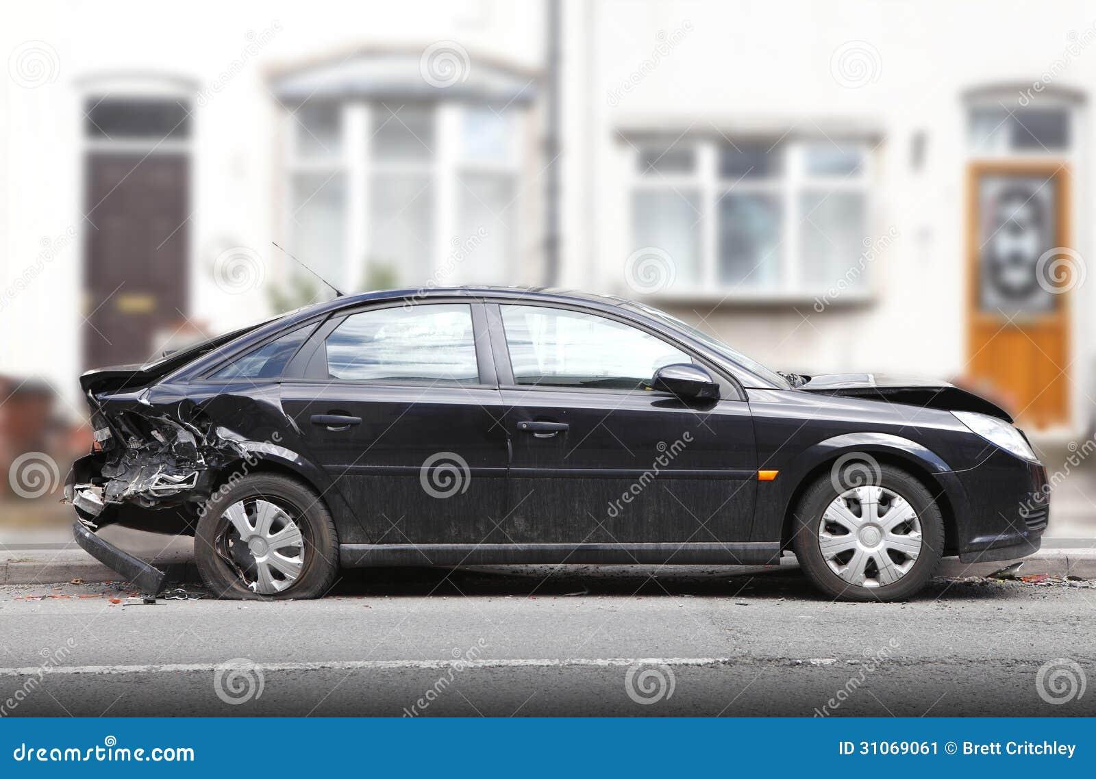 Повреждение автокатастрофы