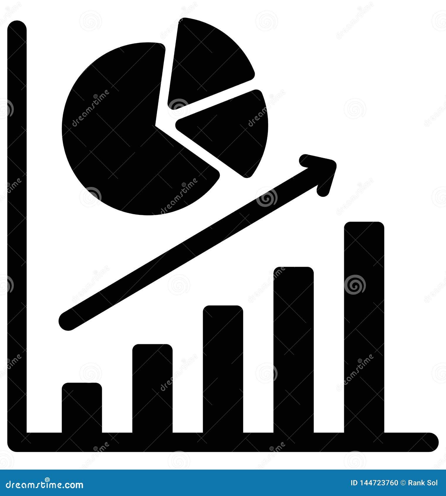 Повышение дела изолировало значок вектора который может легко доработать или отредактировать