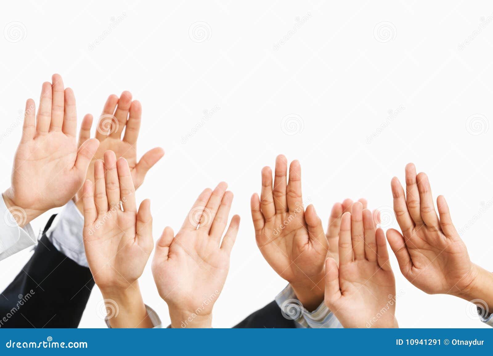 повышение руки