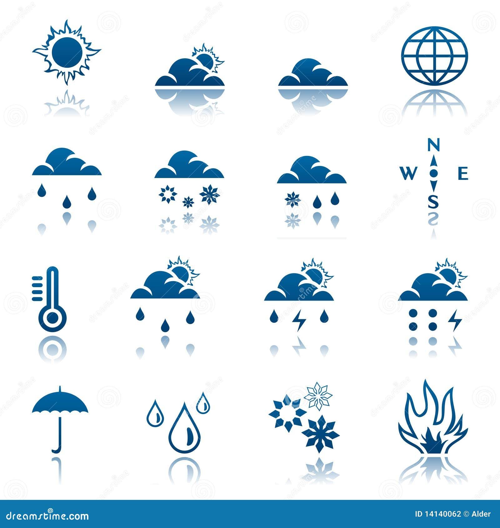 погода иконы установленная