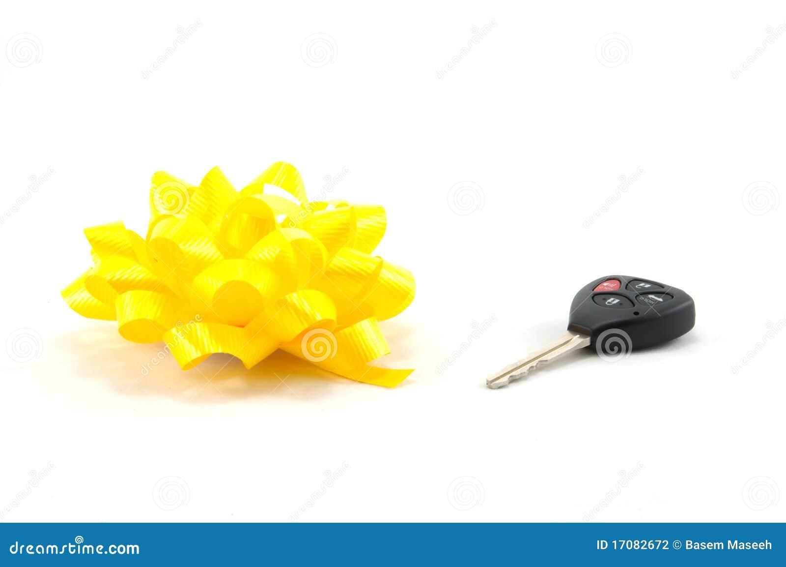 подарок автомобиля