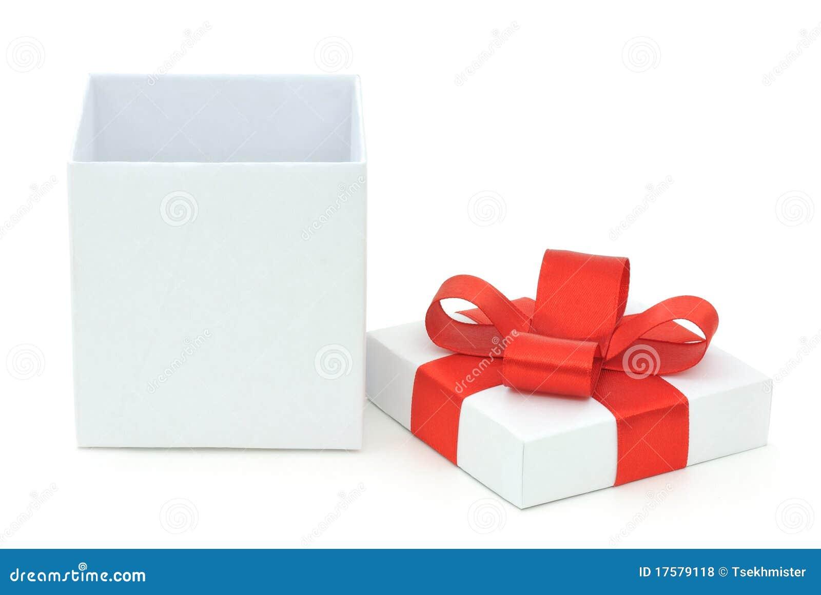 подарок коробки открытый