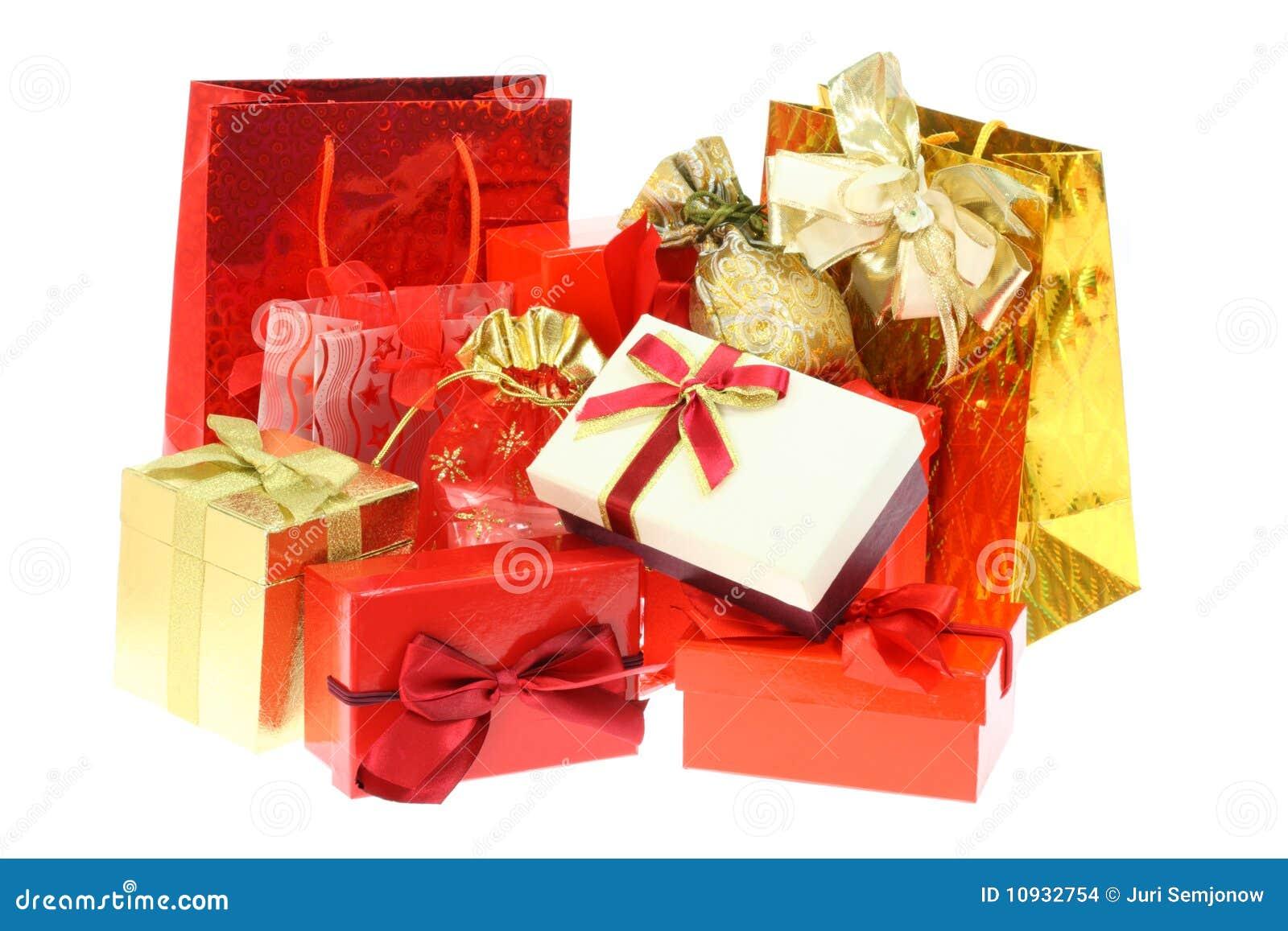 подарок коробок мешков