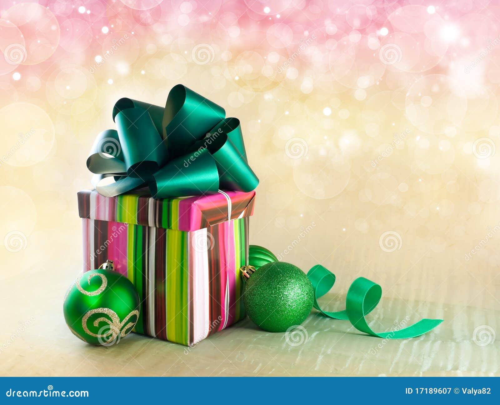 подарок рождества коробки