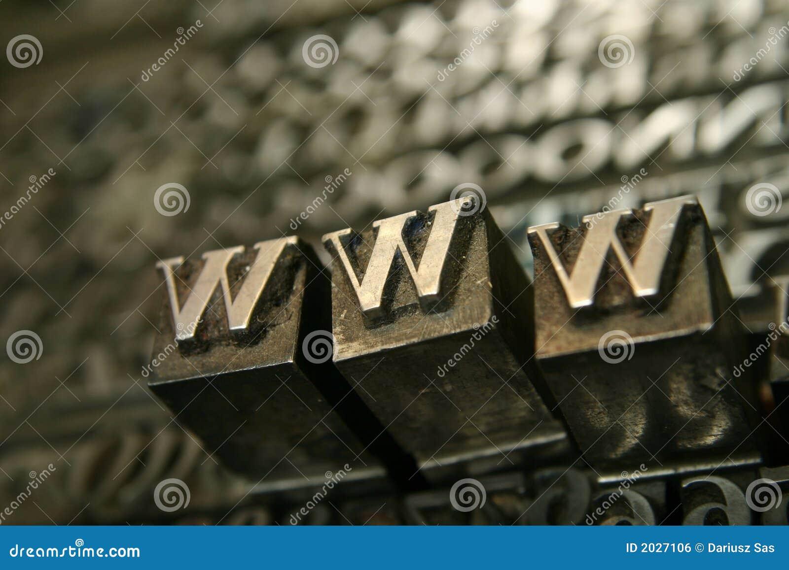 подвижной тип www