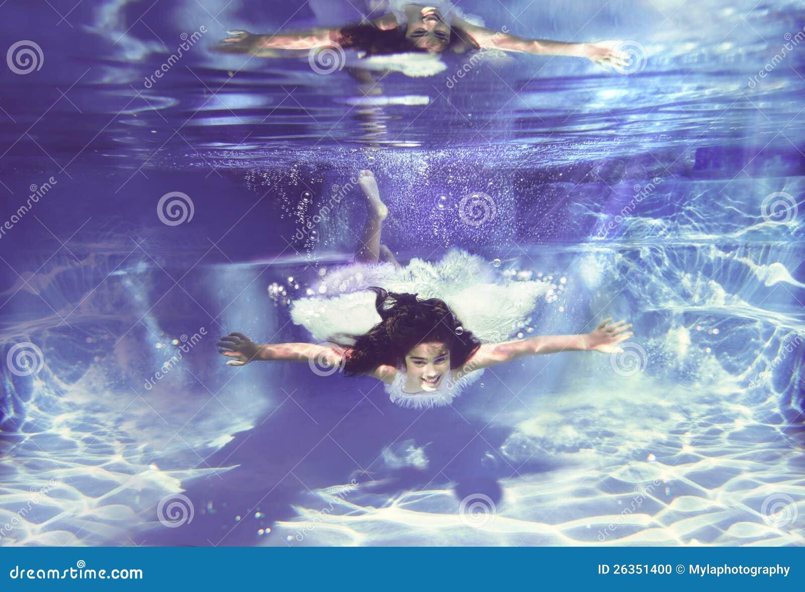 Подводный ангел