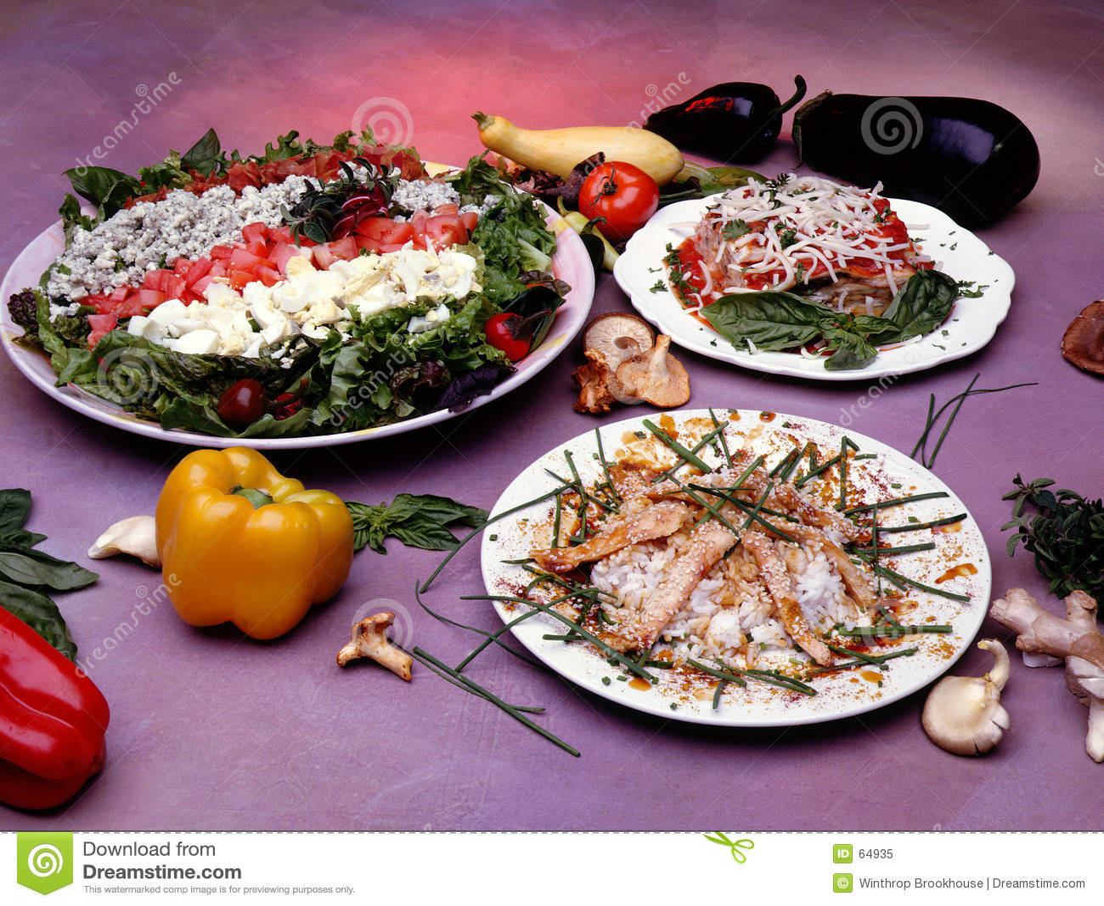 подготовленная еда