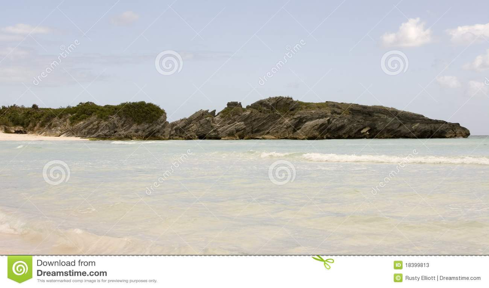 подкова пляжа