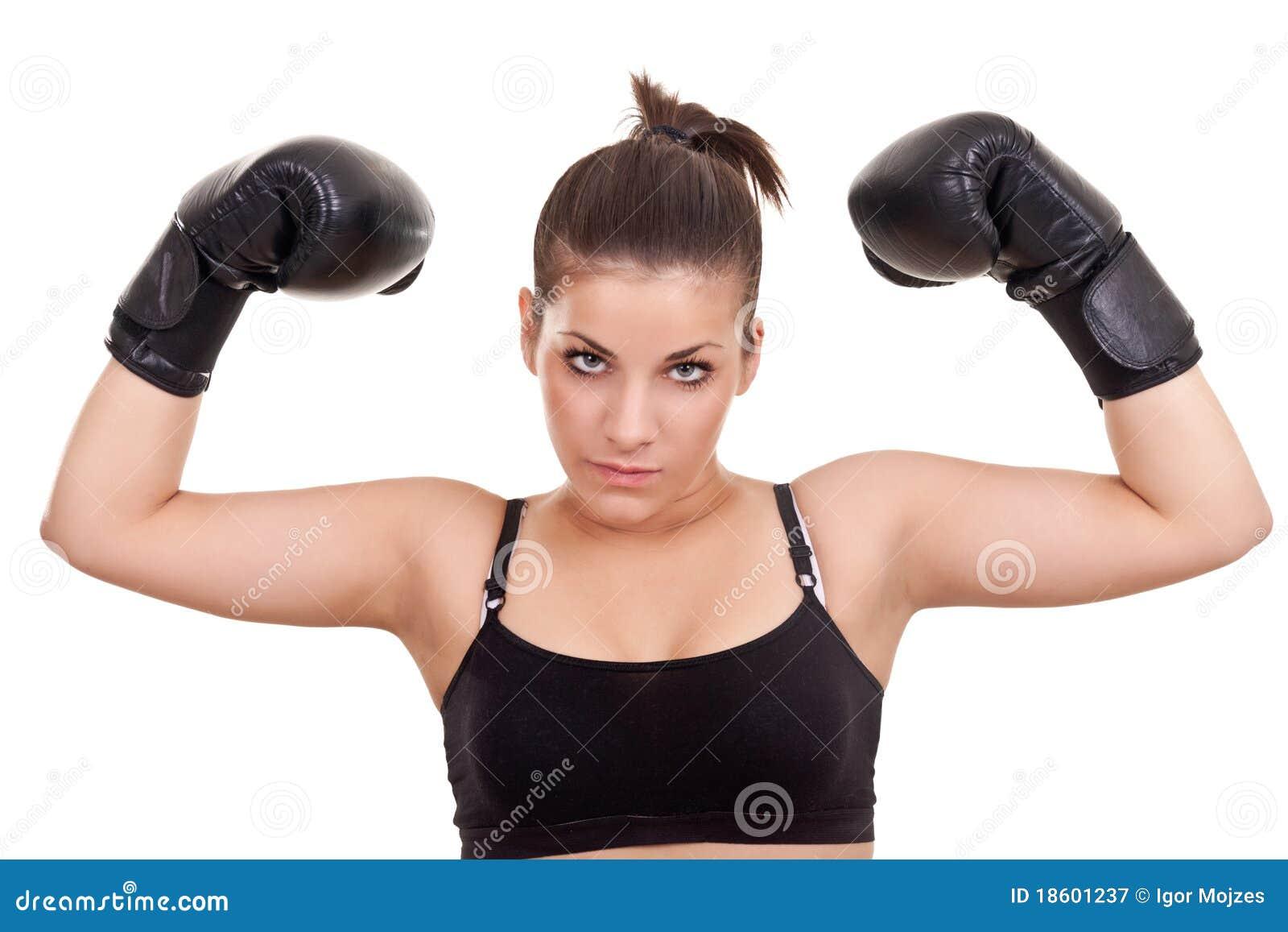 подросток боксера