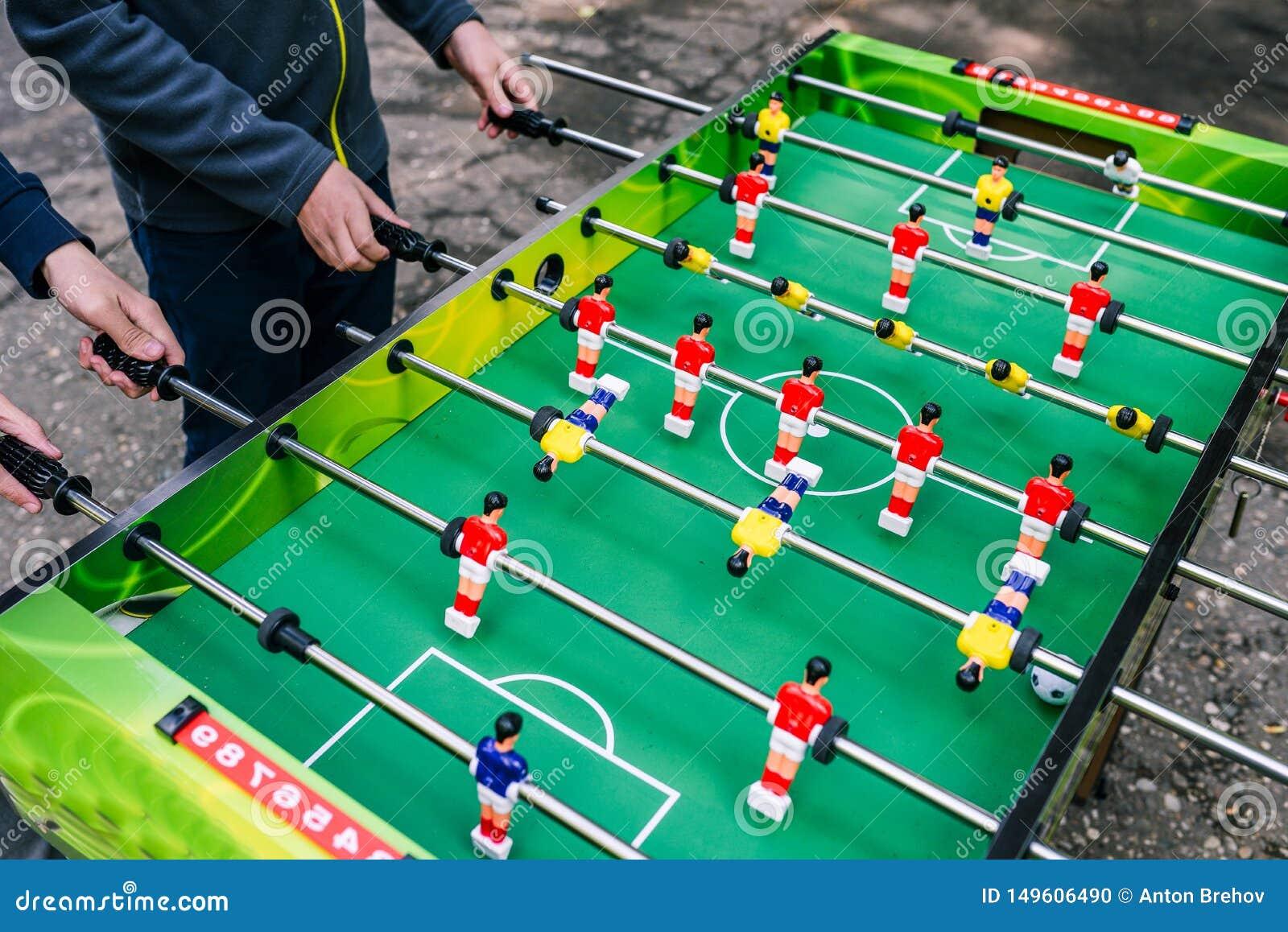 Немецкий настольный футбол