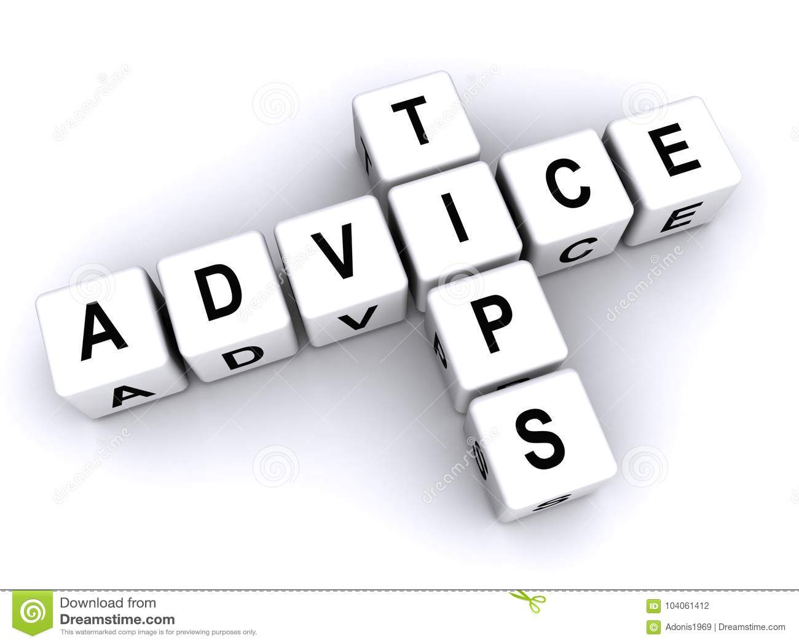 Подсказки и совет в блоках