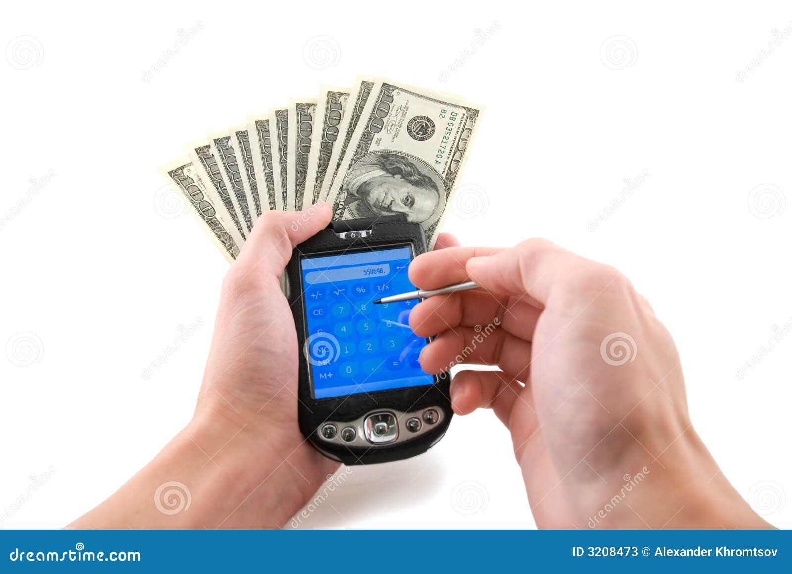 подсчитывать деньги