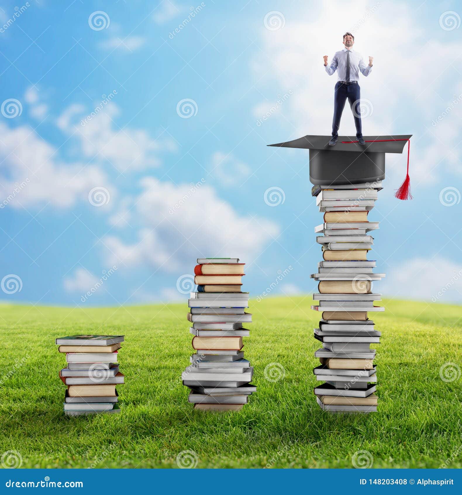Подъем к степени и работе