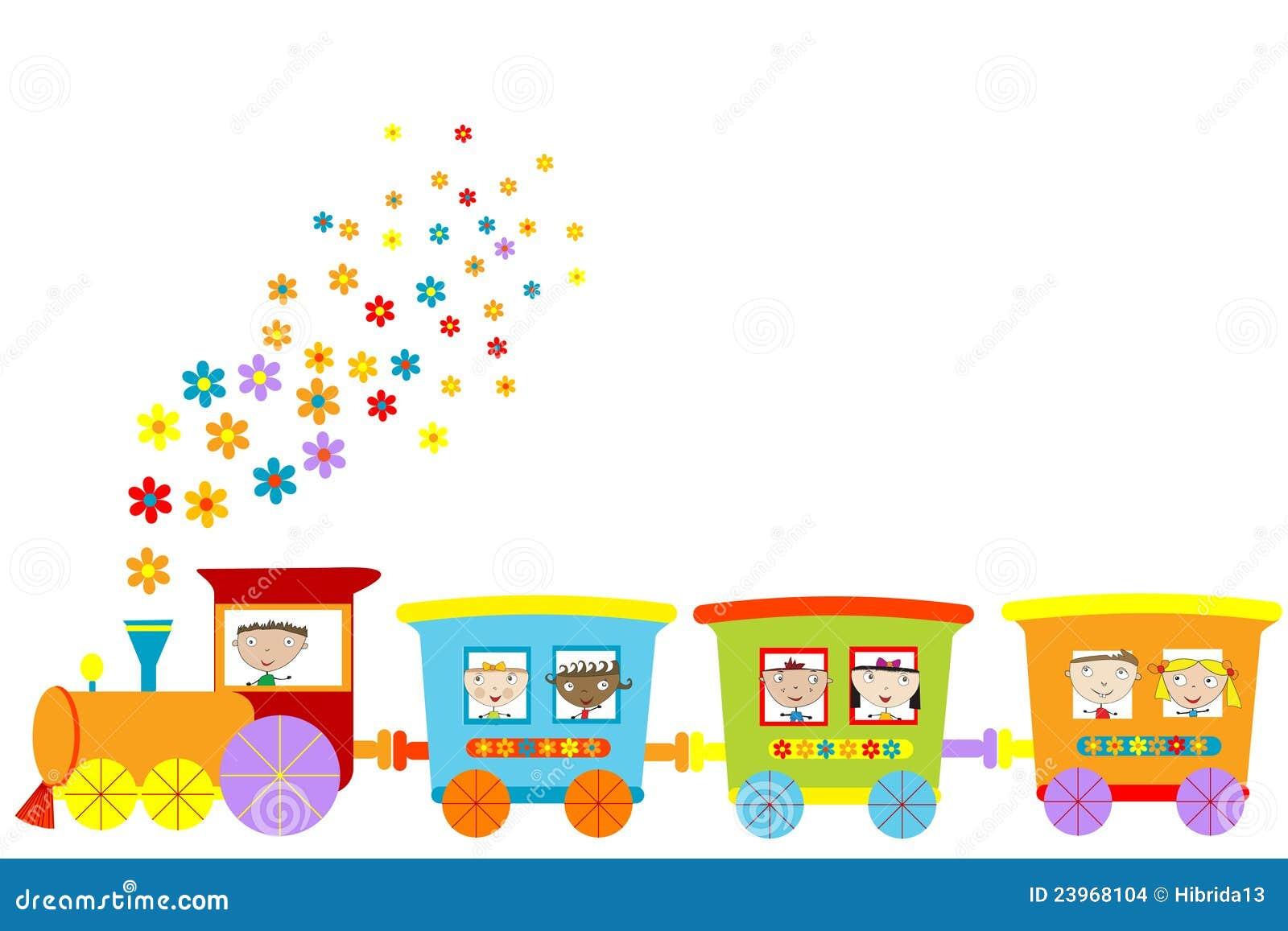 поезд картинки для детей