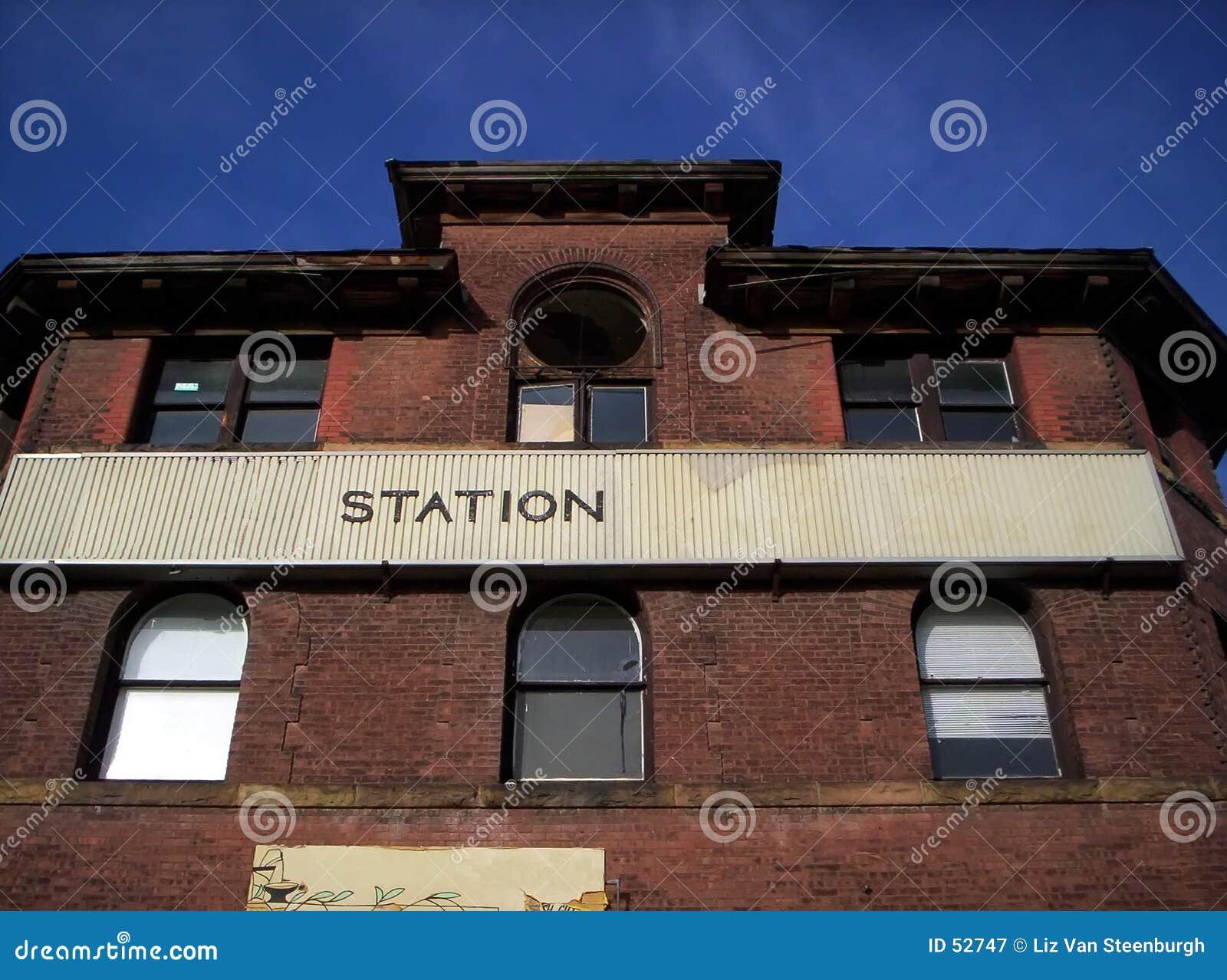 поезд станции