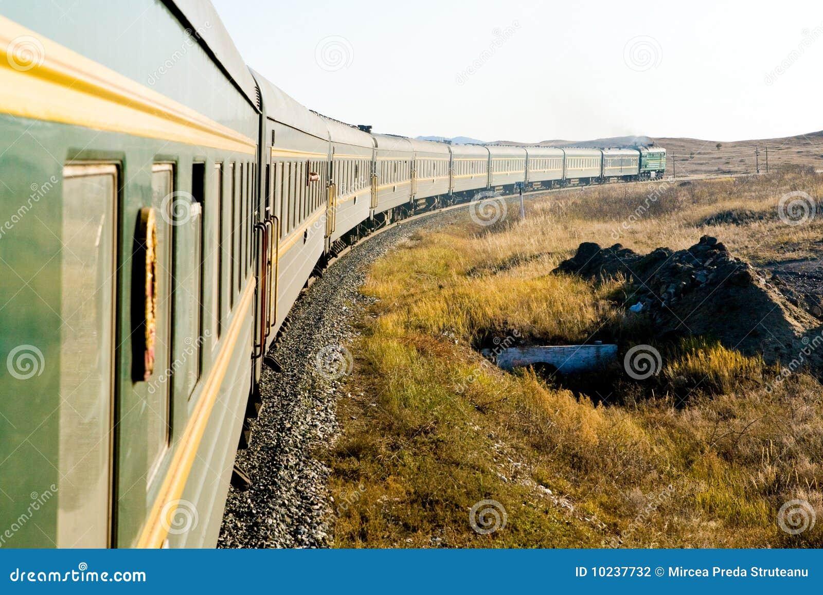 поезд transsiberian