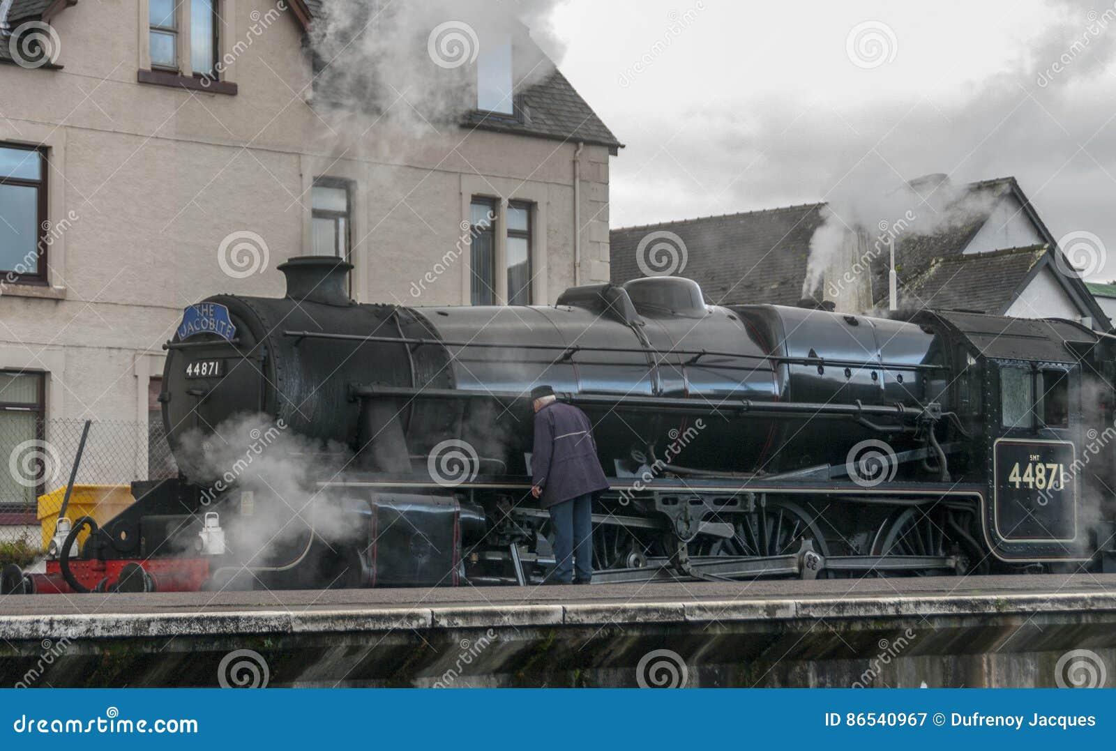 Поезд потока Jacobite