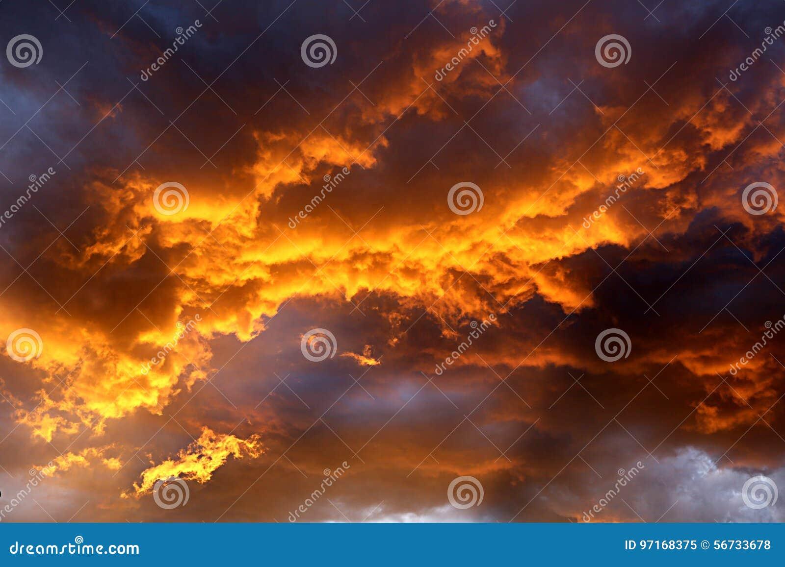 Пожар в небе