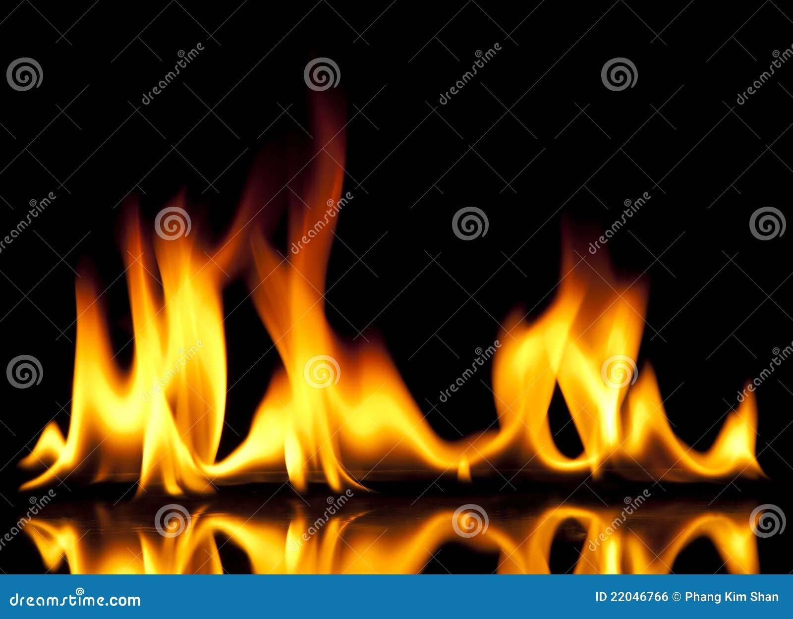 пожар горячий