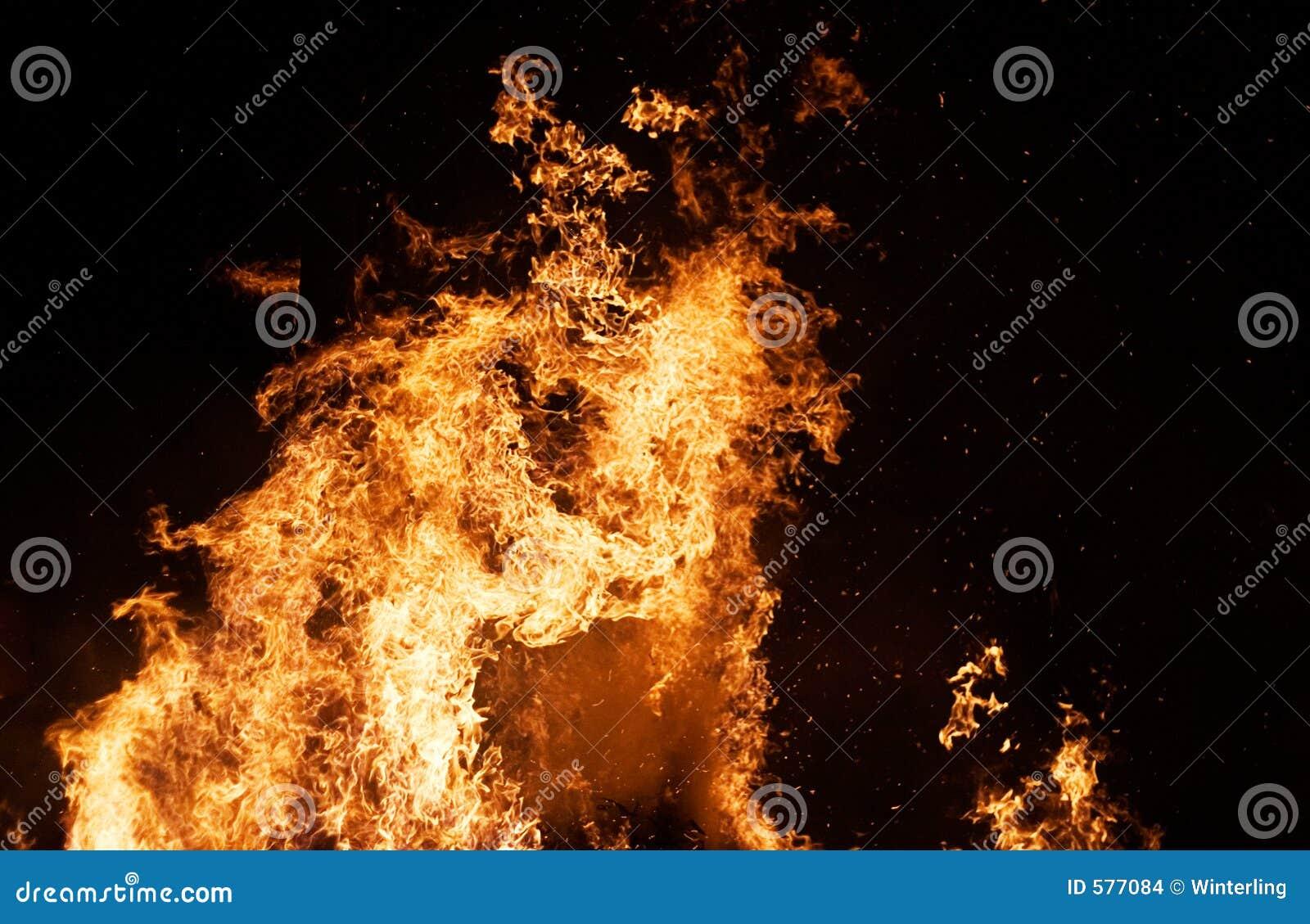 пожар колонки
