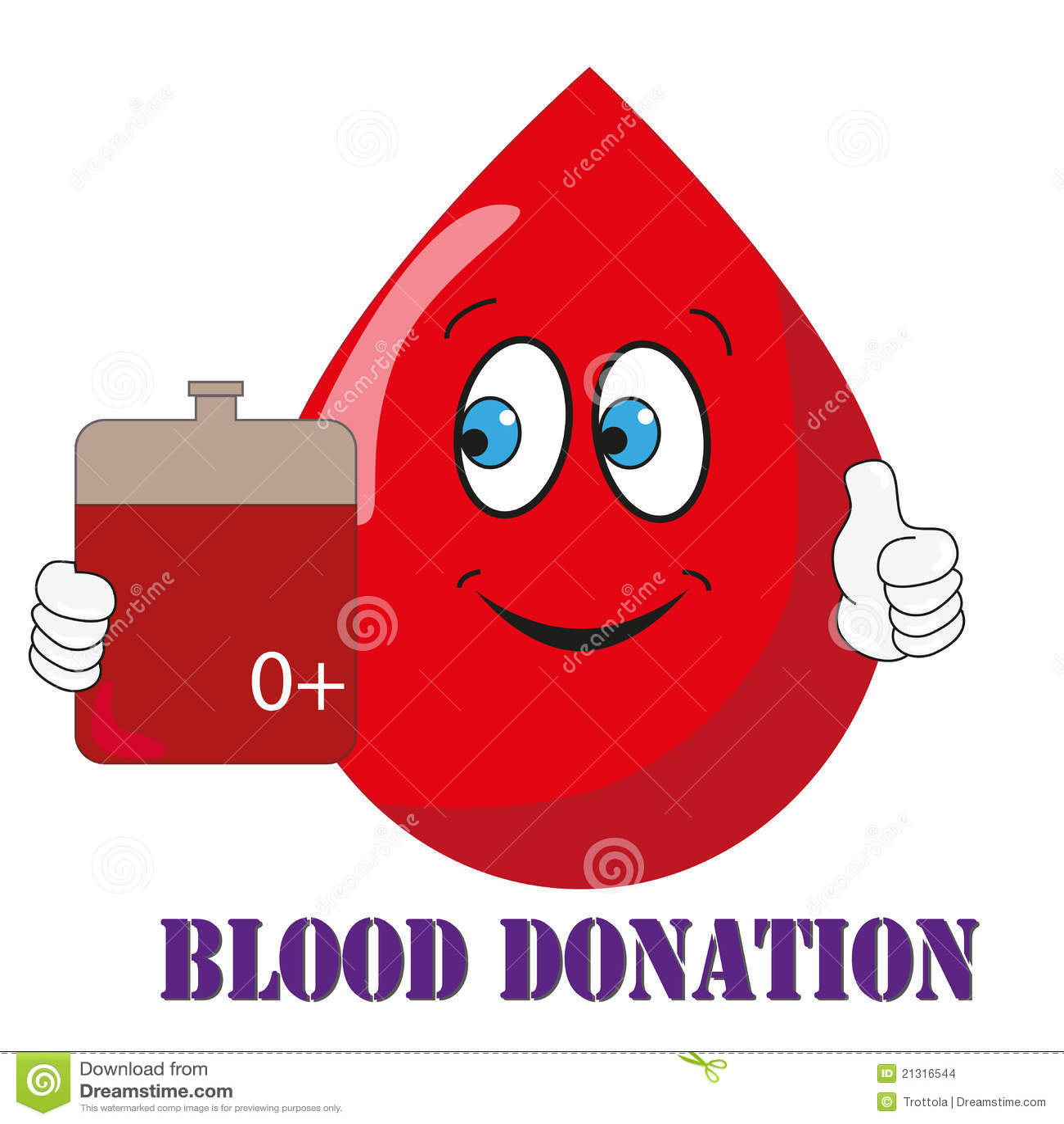 пожертвование крови