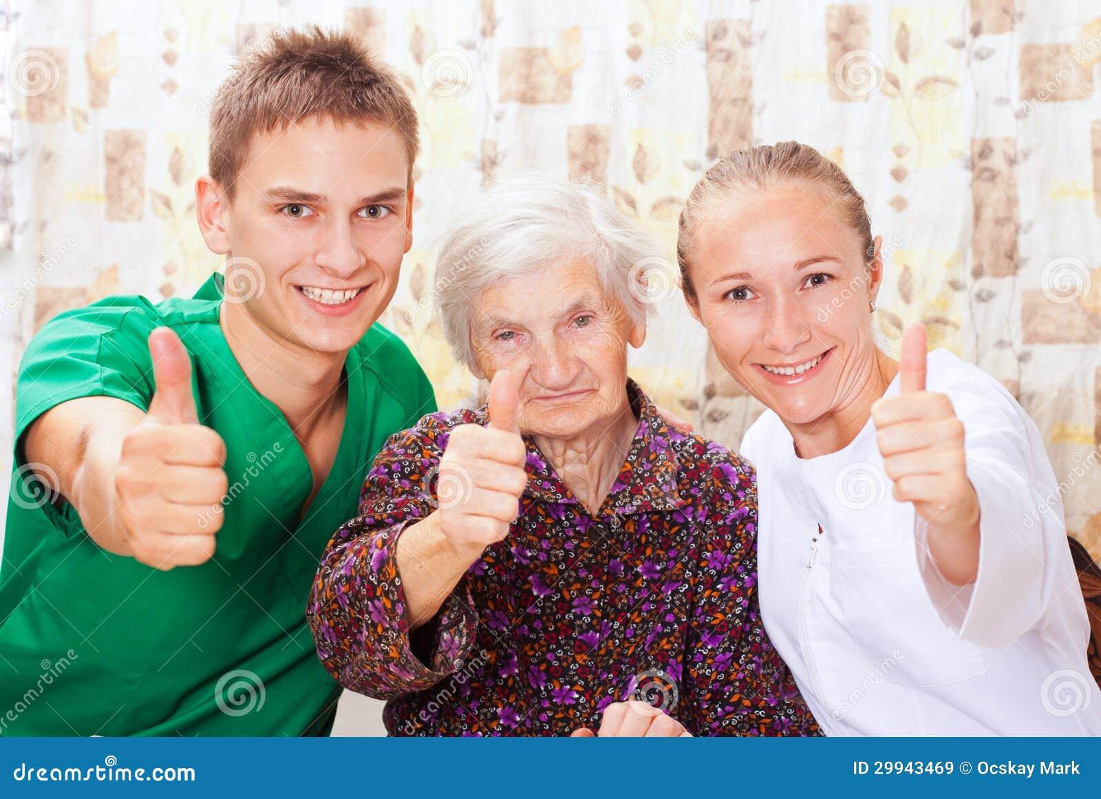 Пожилым знакомство