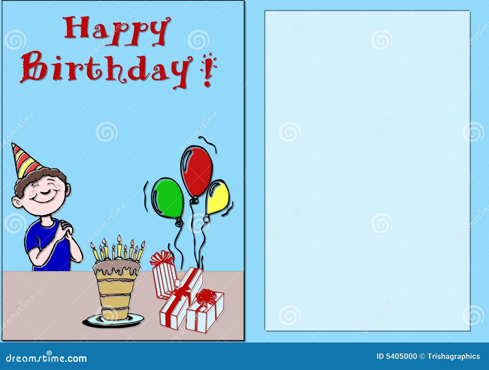 поздравительая открытка ко дню рождения счастливая