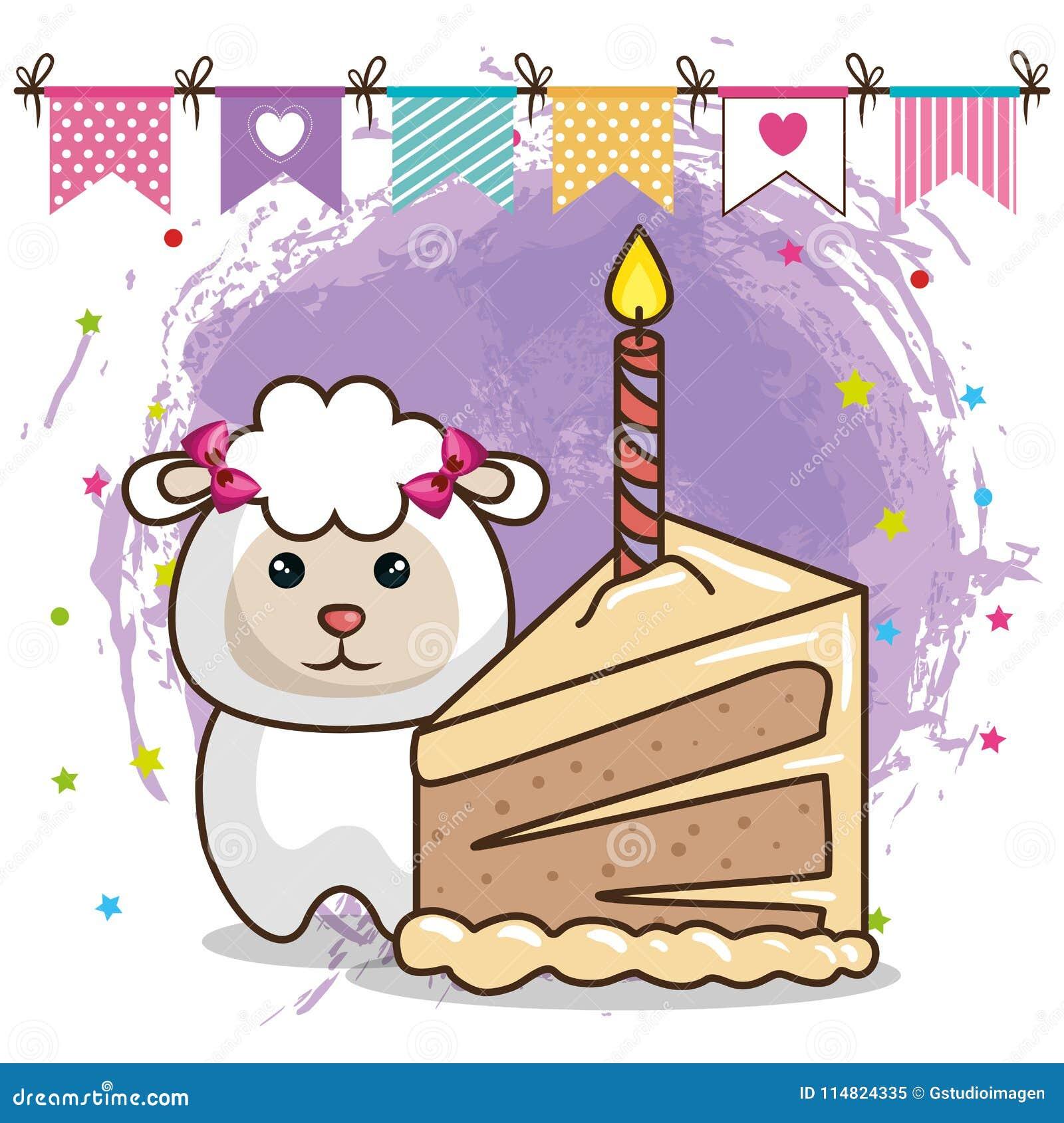 Картинка барашек день рождения увидела